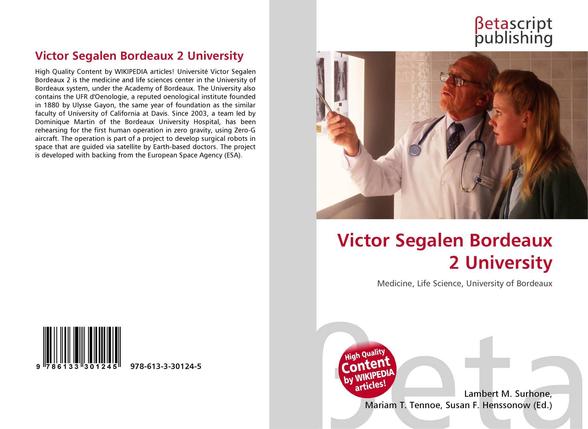 university victor segalen bordeaux 2