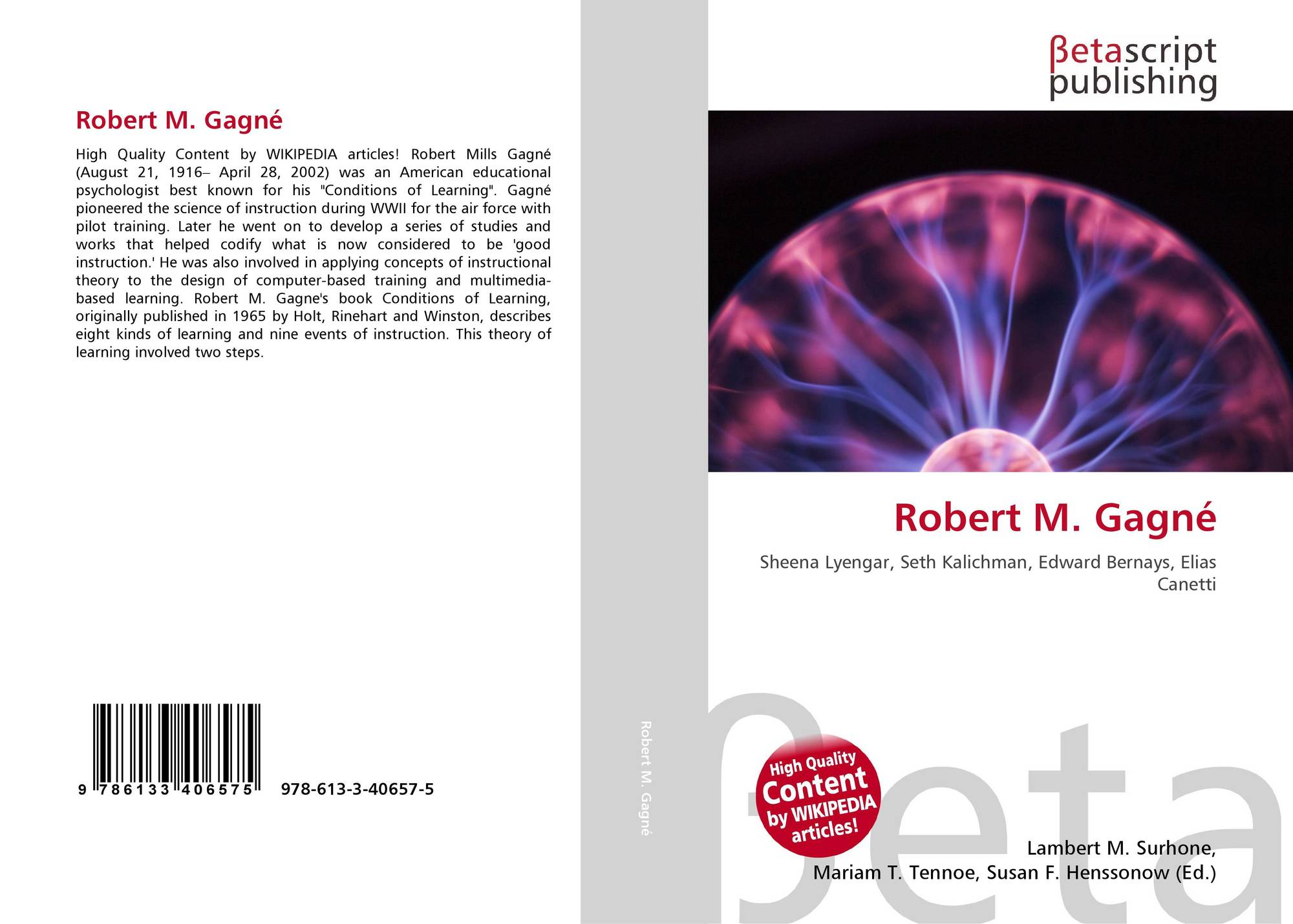 robert gagne conditions of learning pdf