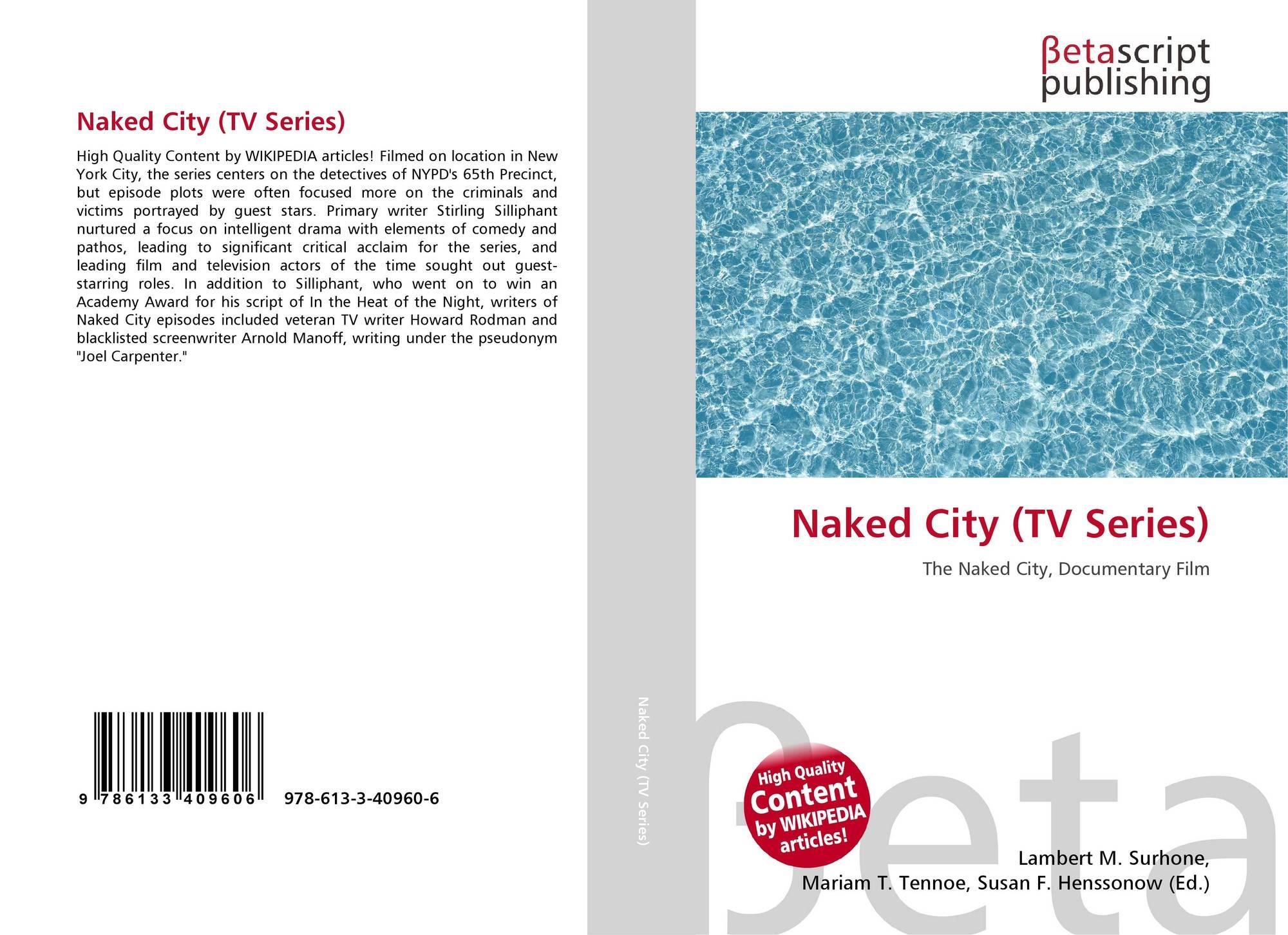 Portada del libro de Naked City (TV Series)