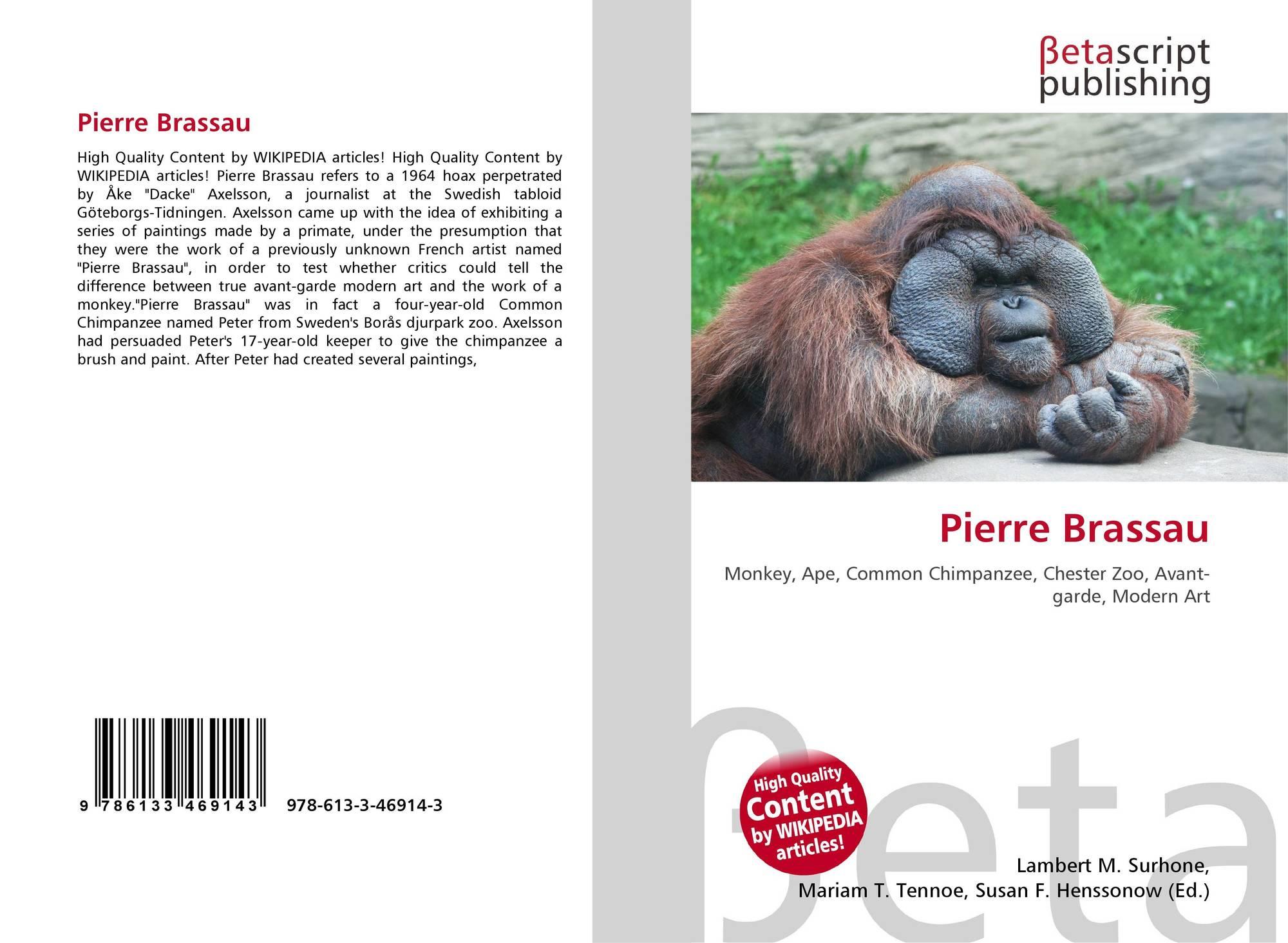 Pierre Brassau, 978-613-3-46914-3, 6133469145 ,9786133469143