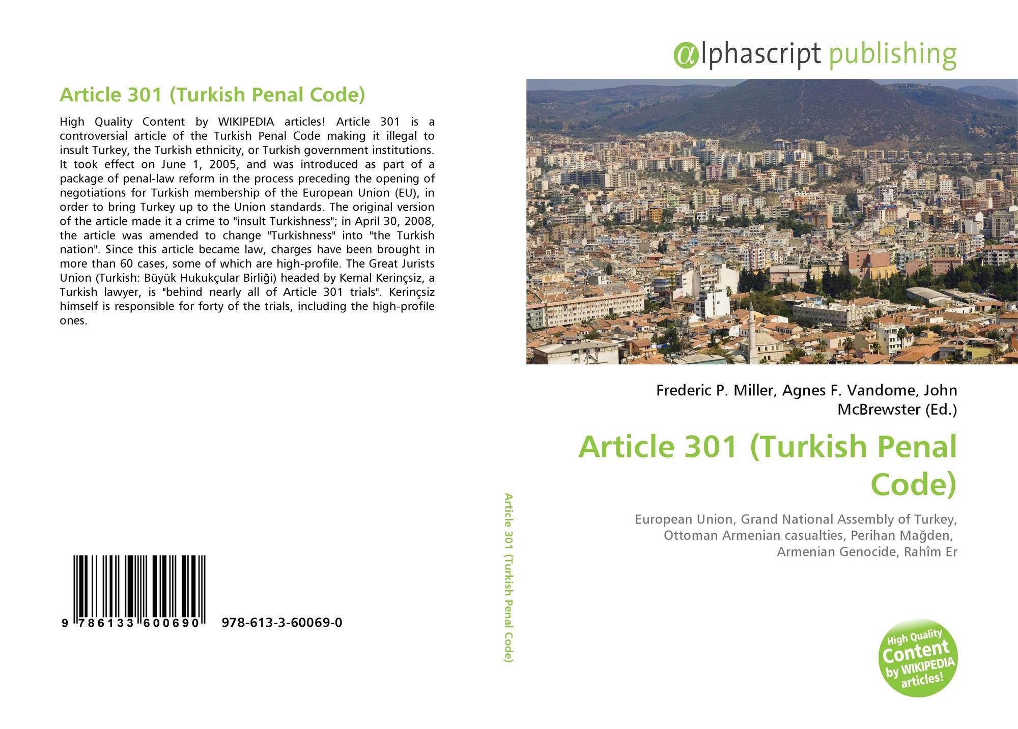 article 301 turkish penal code 2010