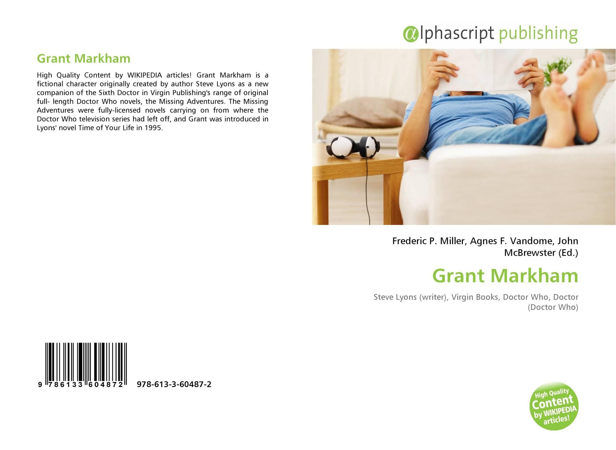 Grant Markham 978 613 3 60487 2