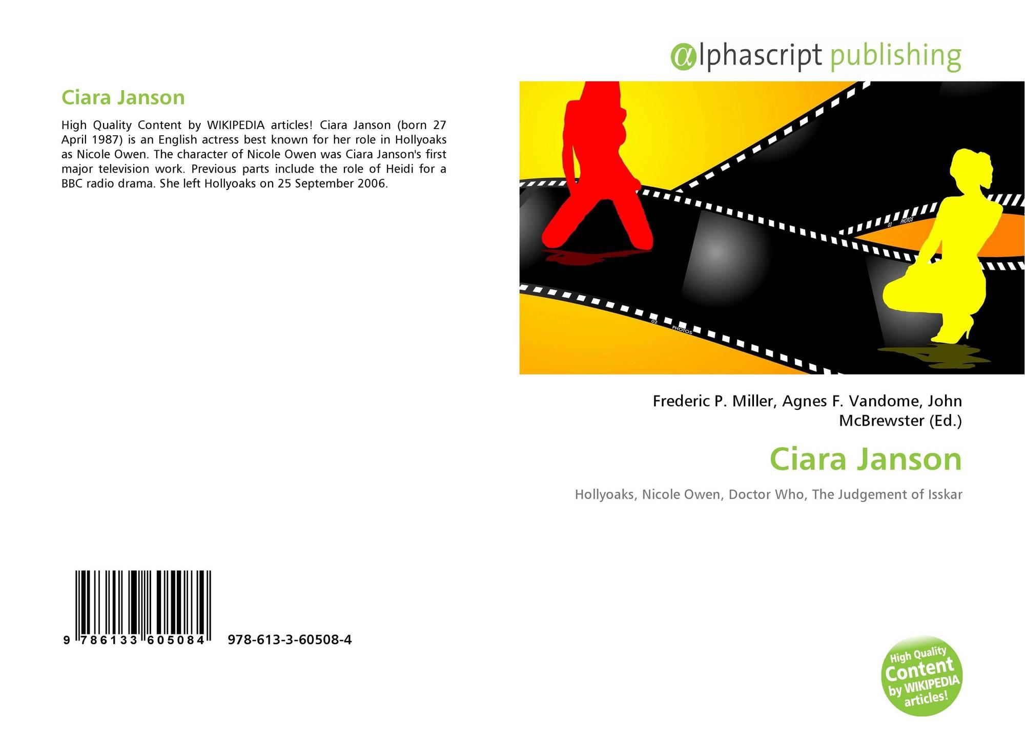 Watch Ciara Janson (born 1987) video