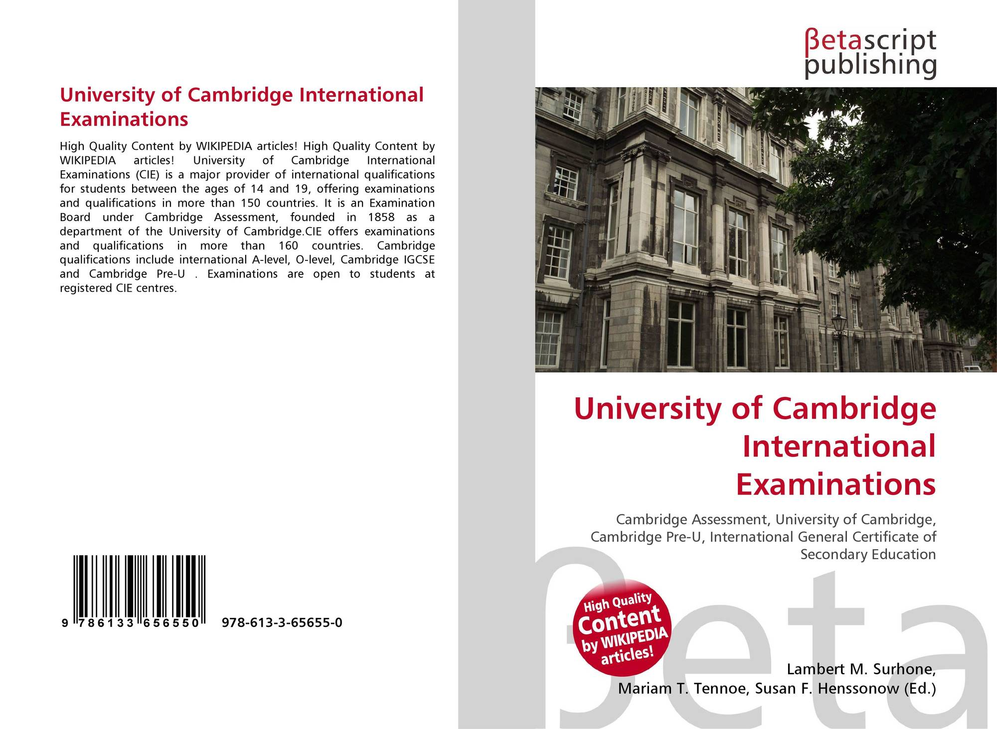 accounting university of cambridge international examinations Cambridge international examinations online books database doc id db9599 online books database accounting has been endorsed by university of cambridge international examinations cambridge cambridge international as and a level accounting textbook cambridge international.