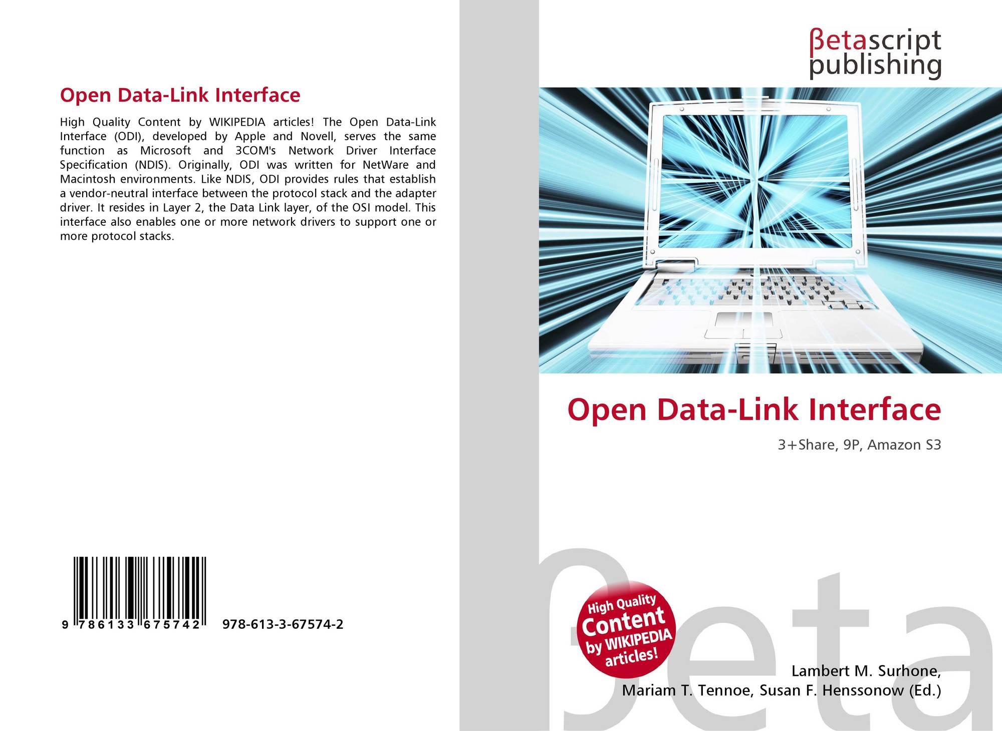 Open Data-Link Interface, 978-...