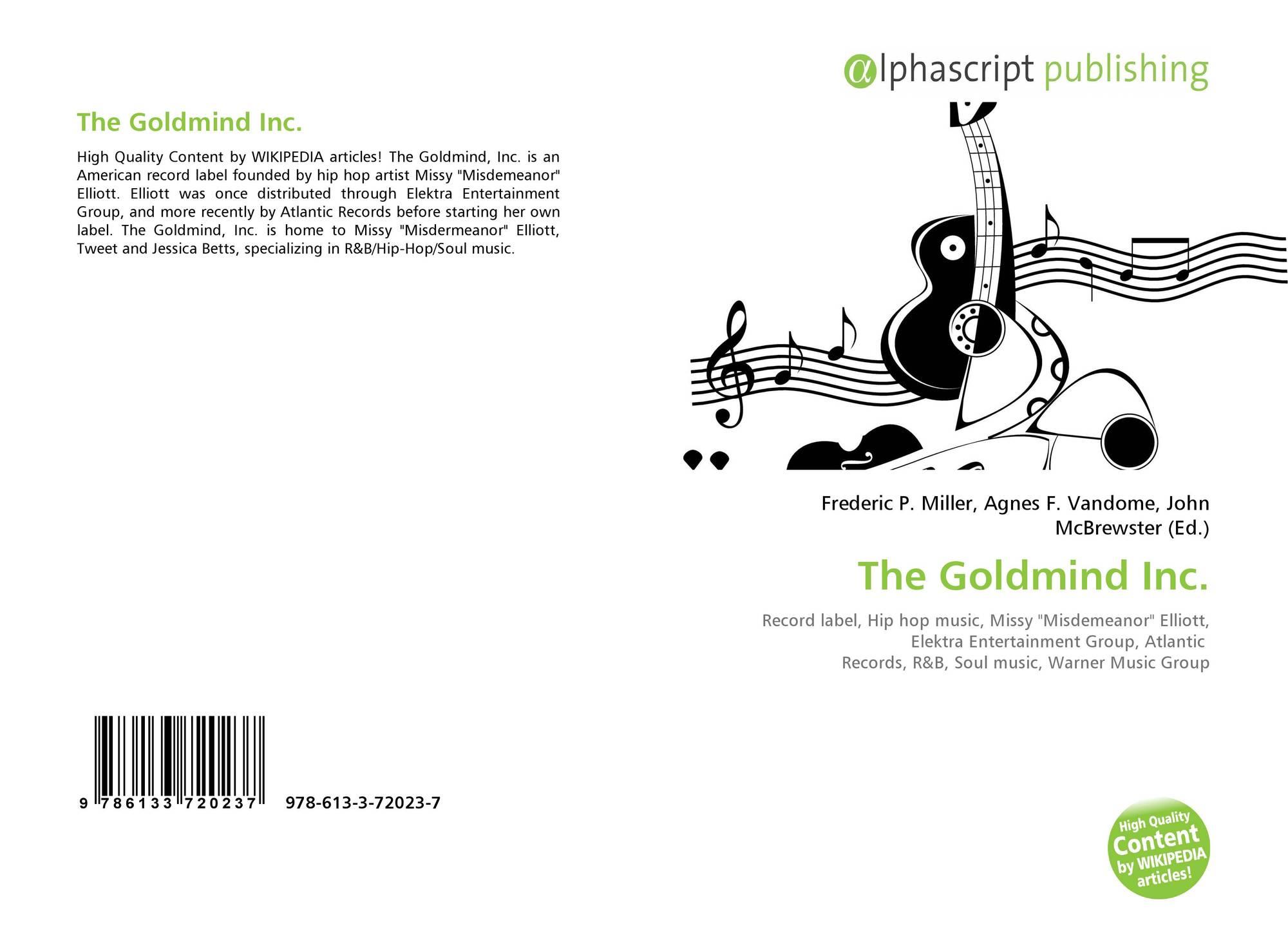 The Goldmind Inc , 978-613-3-72023-7, 6133720239 ,9786133720237