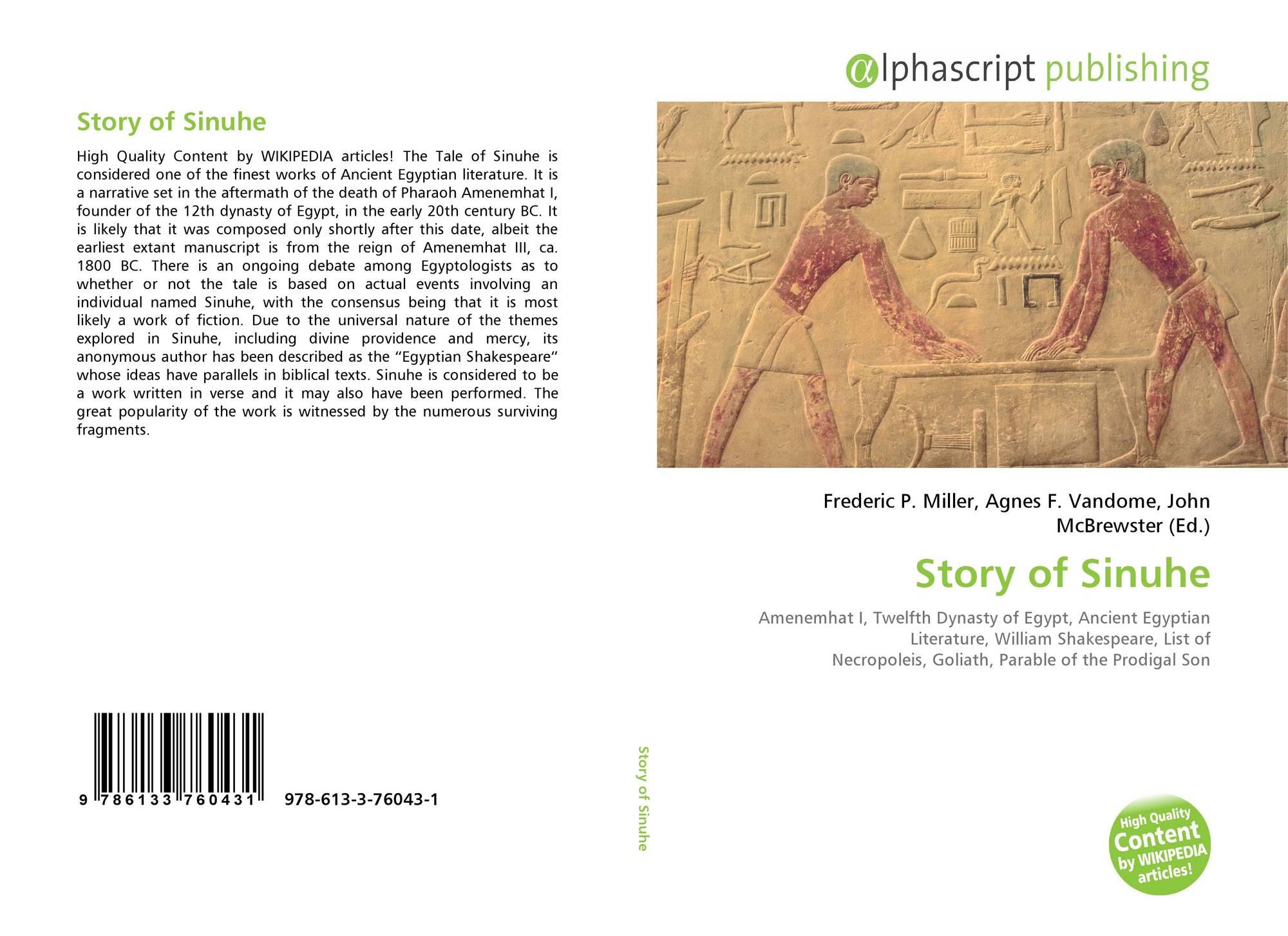 tale of sinuhe story