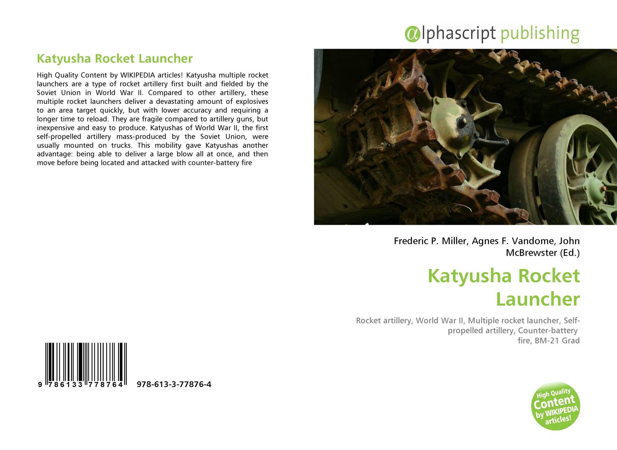 Katyusha Rocket Launcher, 978-613-3-77876-4, 6133778768