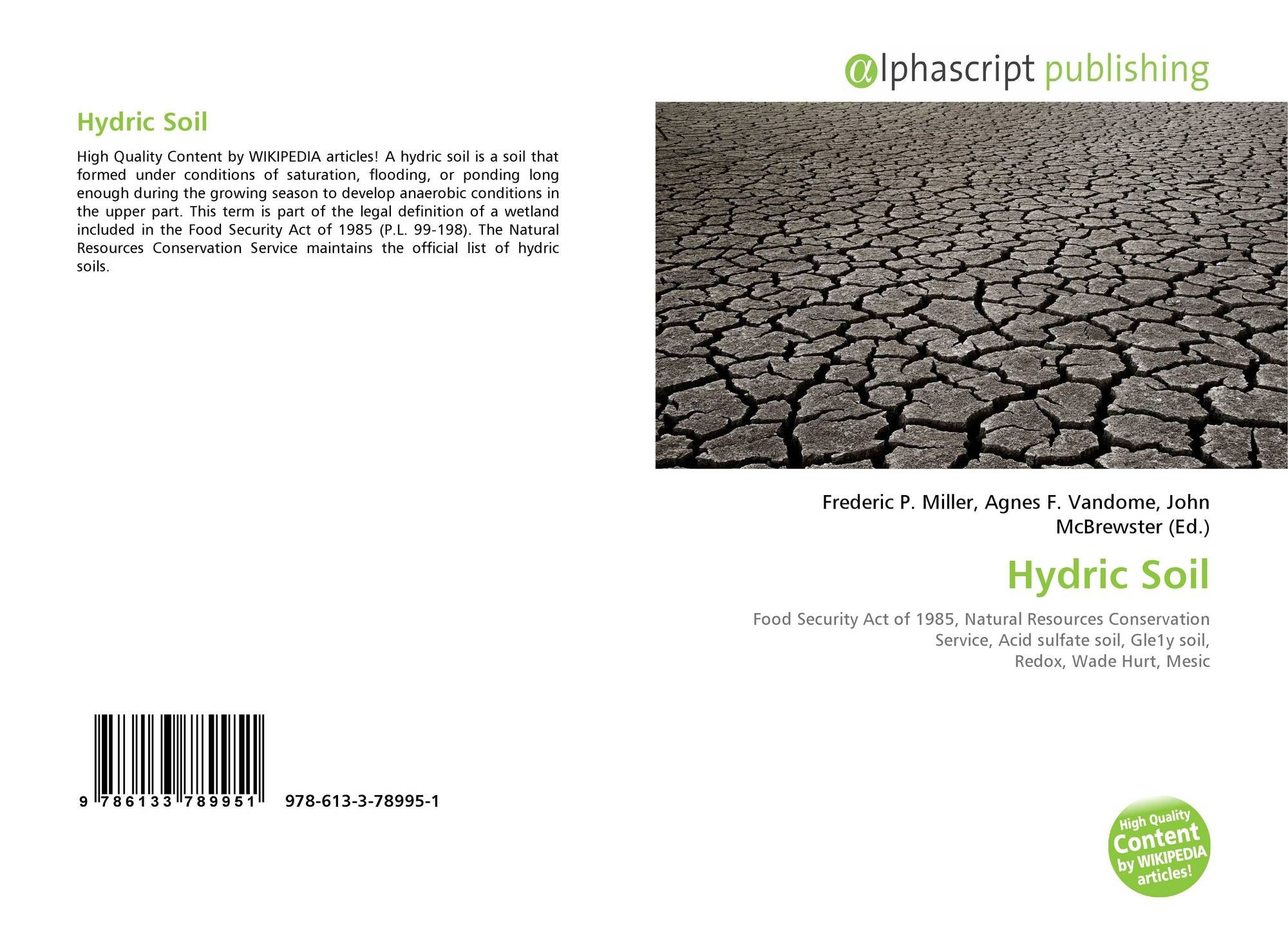 search results for hydric soil