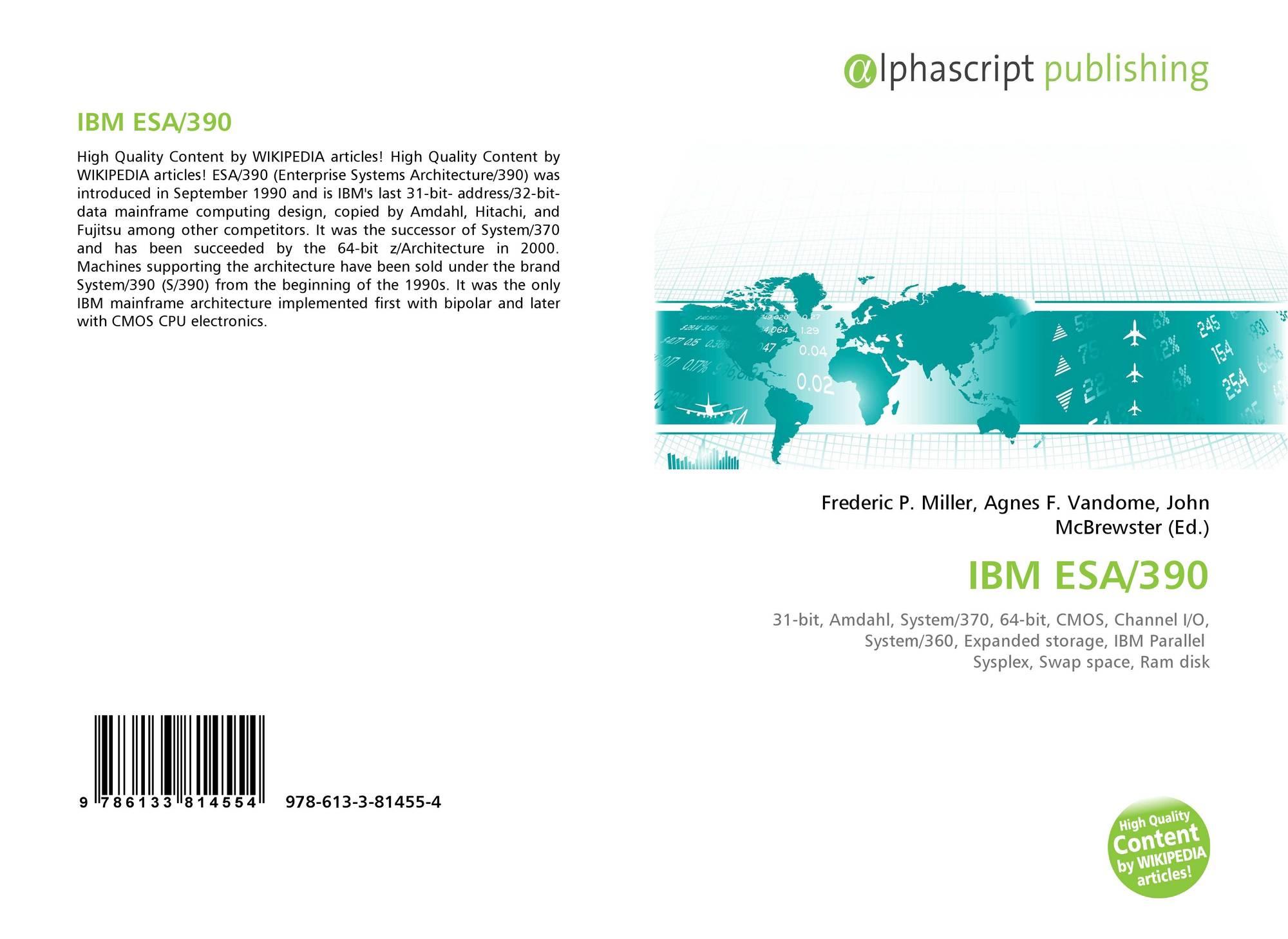 IBM ESA/390, 978-613-3-81455-4...