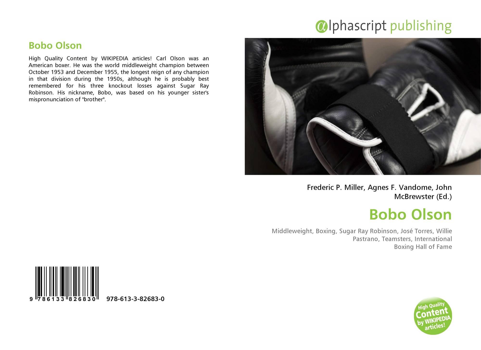 Bobo Olson, 978-613-3-82683-0, 6133826835 ,9786133826830