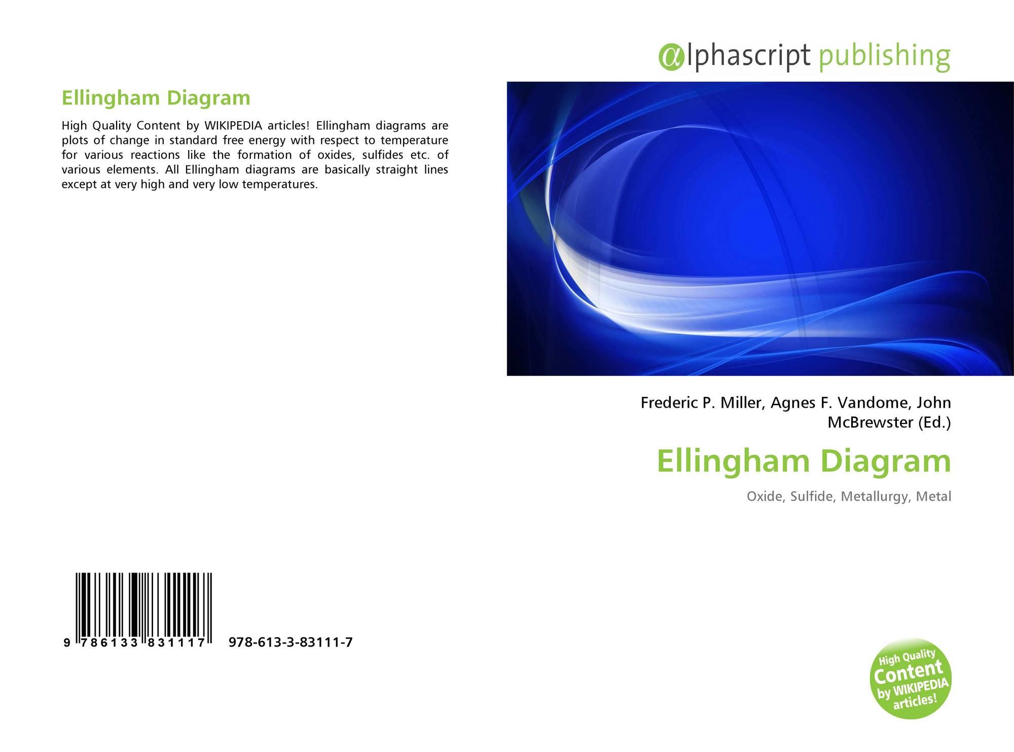 Ellingham diagram 978 613 3 83111 7 6133831111 9786133831117 bookcover of ellingham diagram 9786133831117 ccuart Gallery