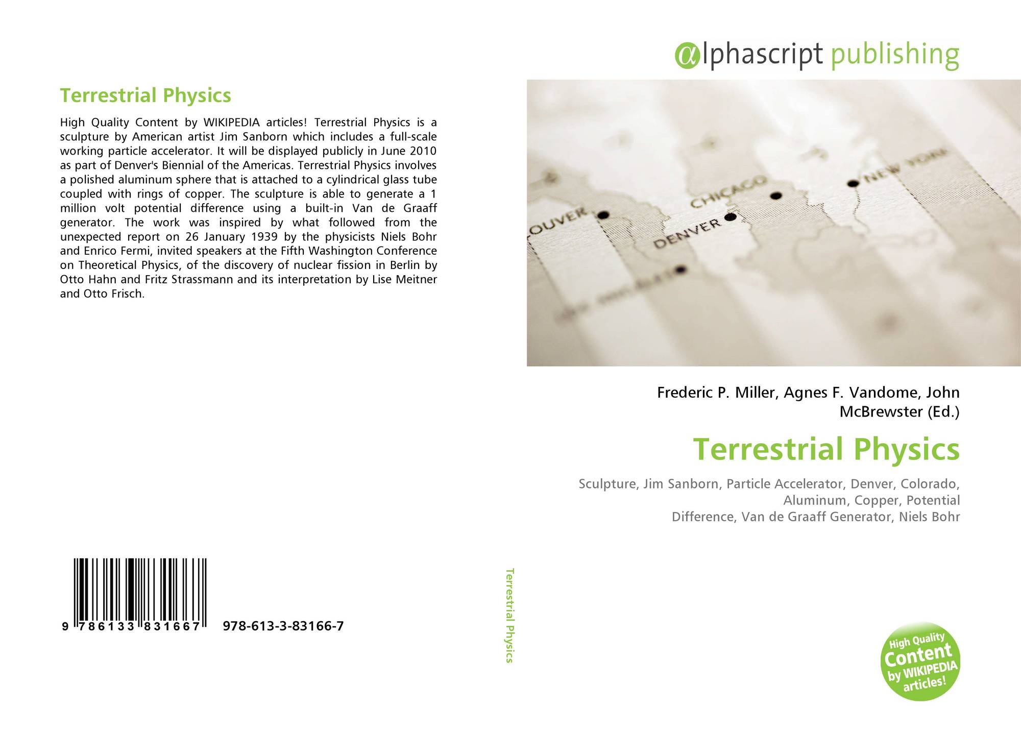 Bookcover Of Terrestrial Physics