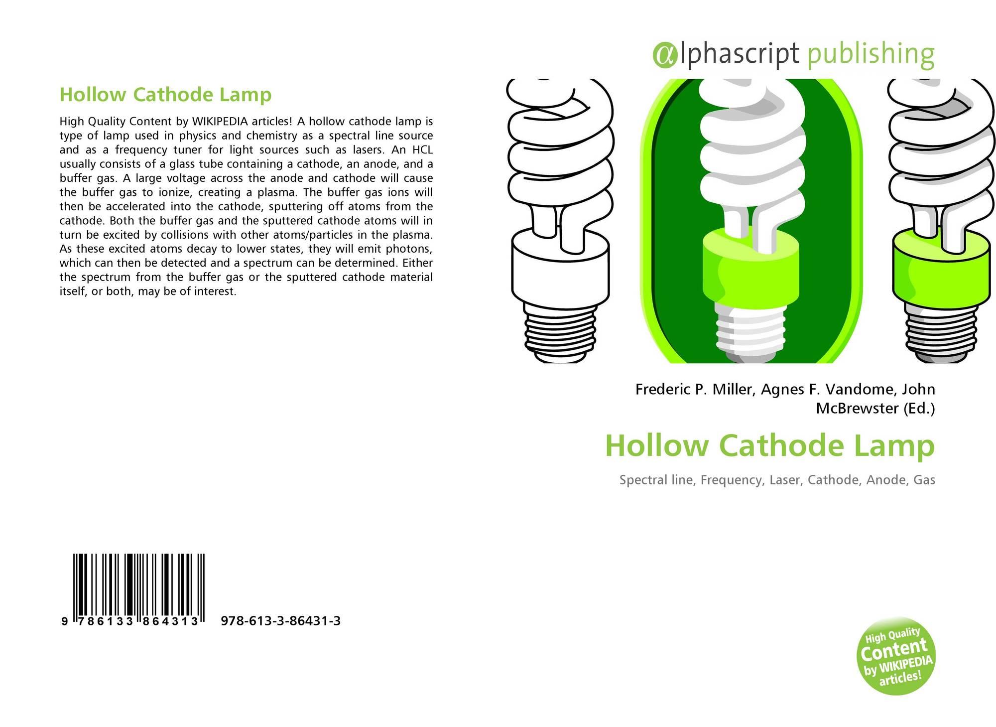 Hollow Cathode Lamp