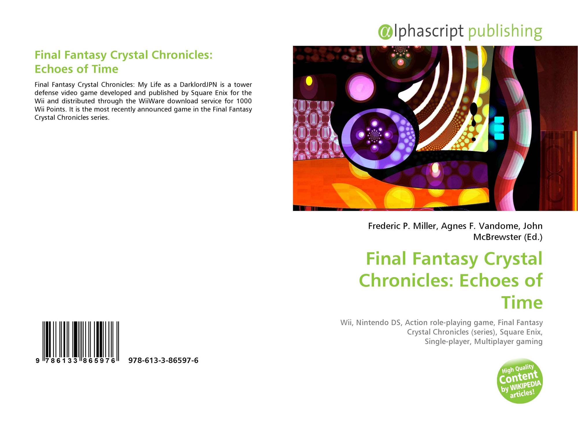 Final Fantasy Crystal Chronicles: Echoes of Time, 978-613-3