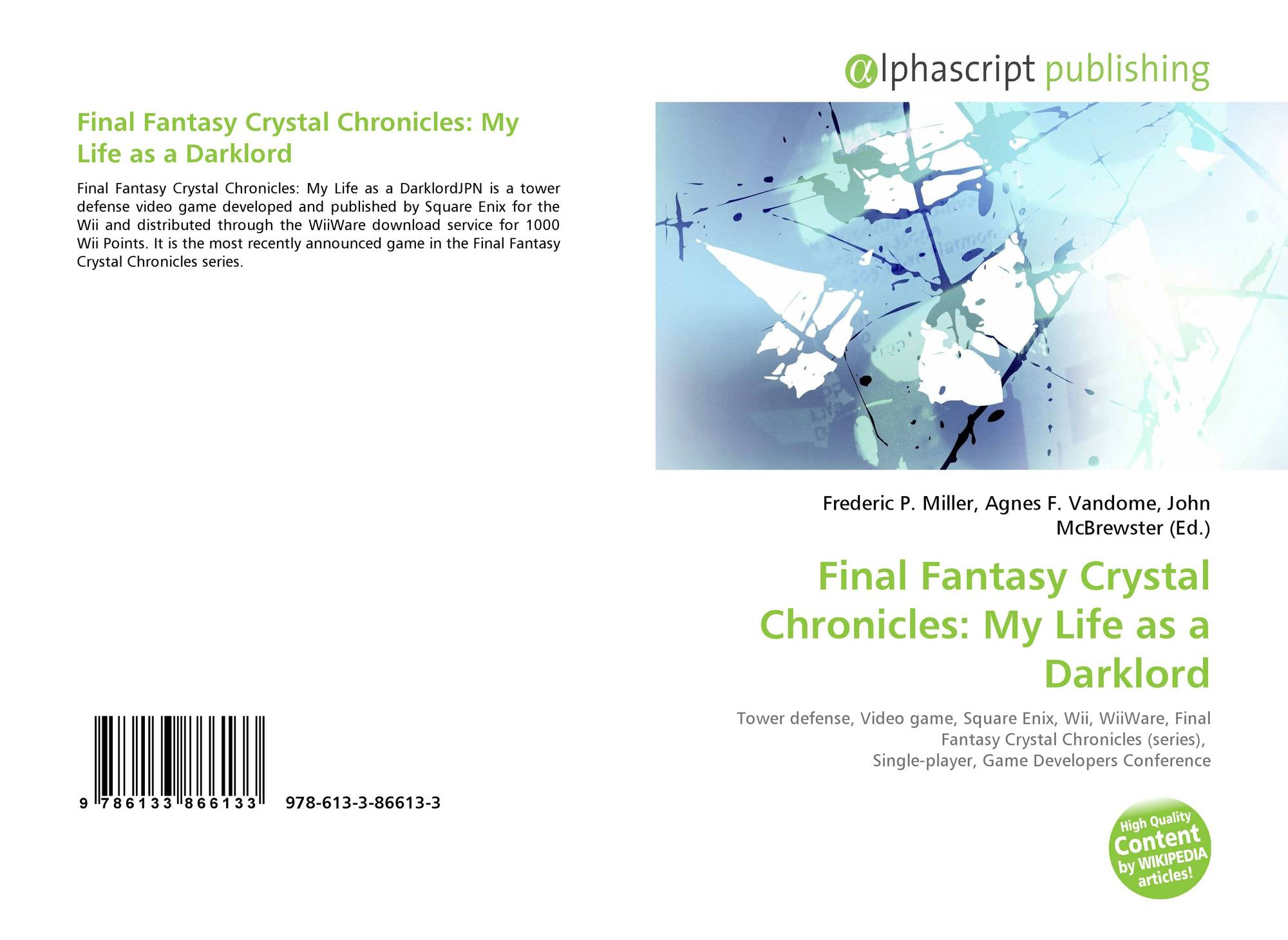 Final Fantasy Crystal Chronicles: My Life as a Darklord, 978