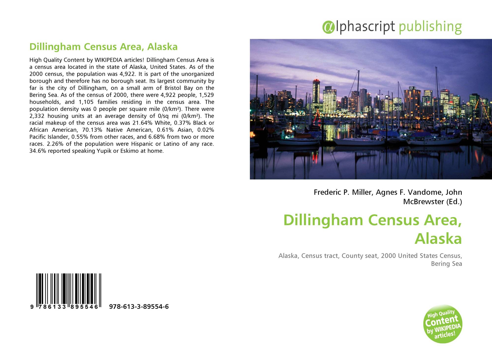 Alaska dillingham county - Bookcover Of Dillingham Census Area Alaska