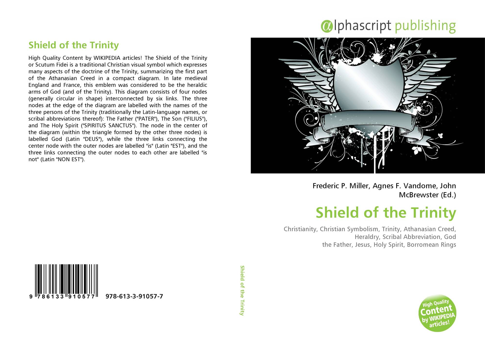 Shield Of The Trinity 978 613 3 91057 7 6133910577 9786133910577