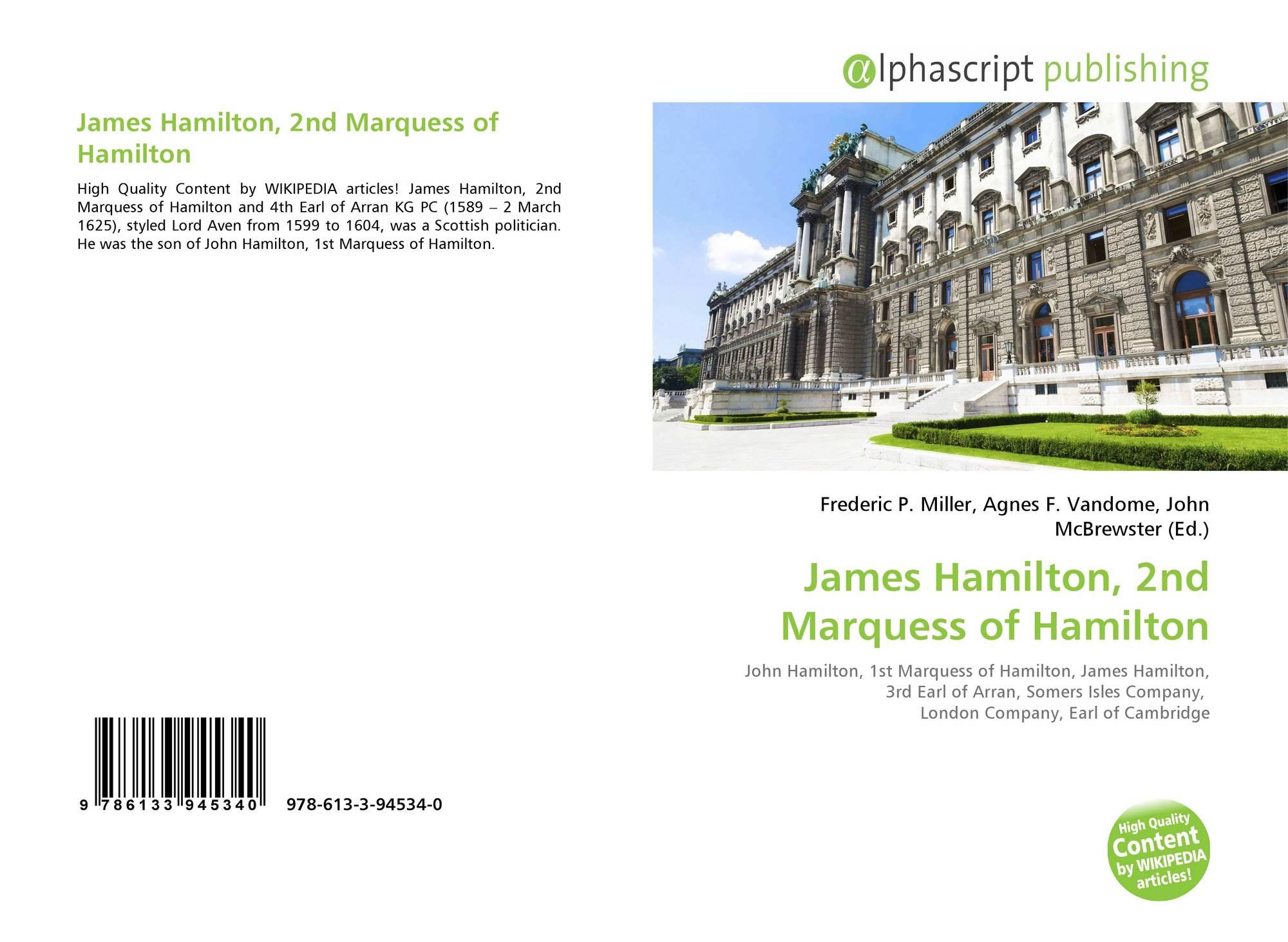 James Hamilton, 3rd Earl of Arran
