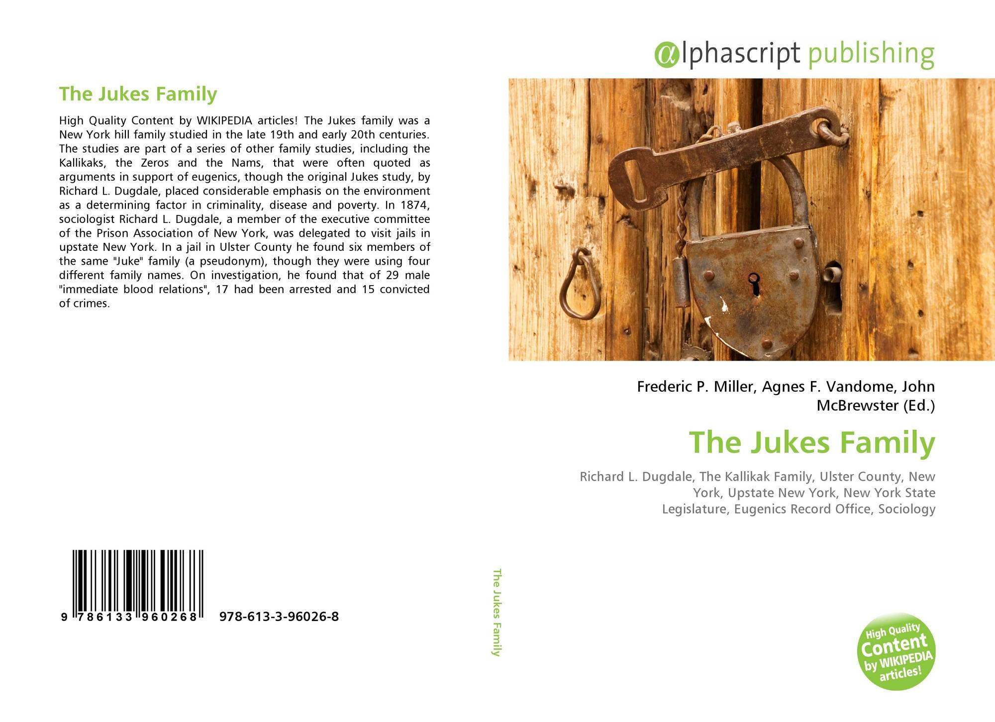 The Jukes and Kallikaks | Lansdowne-Aldan High School ...