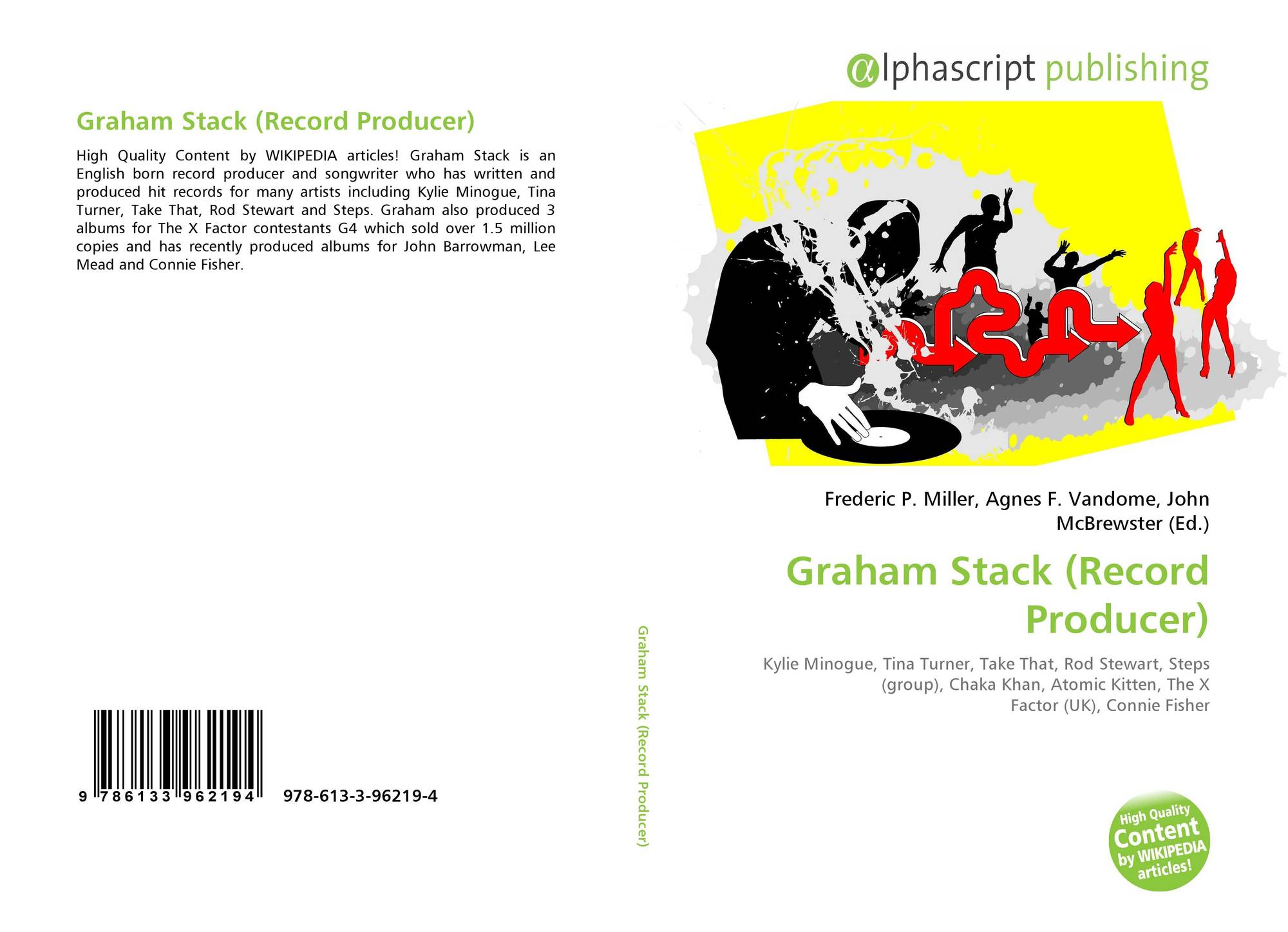 Graham Stack (Record Producer), 978-613-3-96219-4, 6133962194