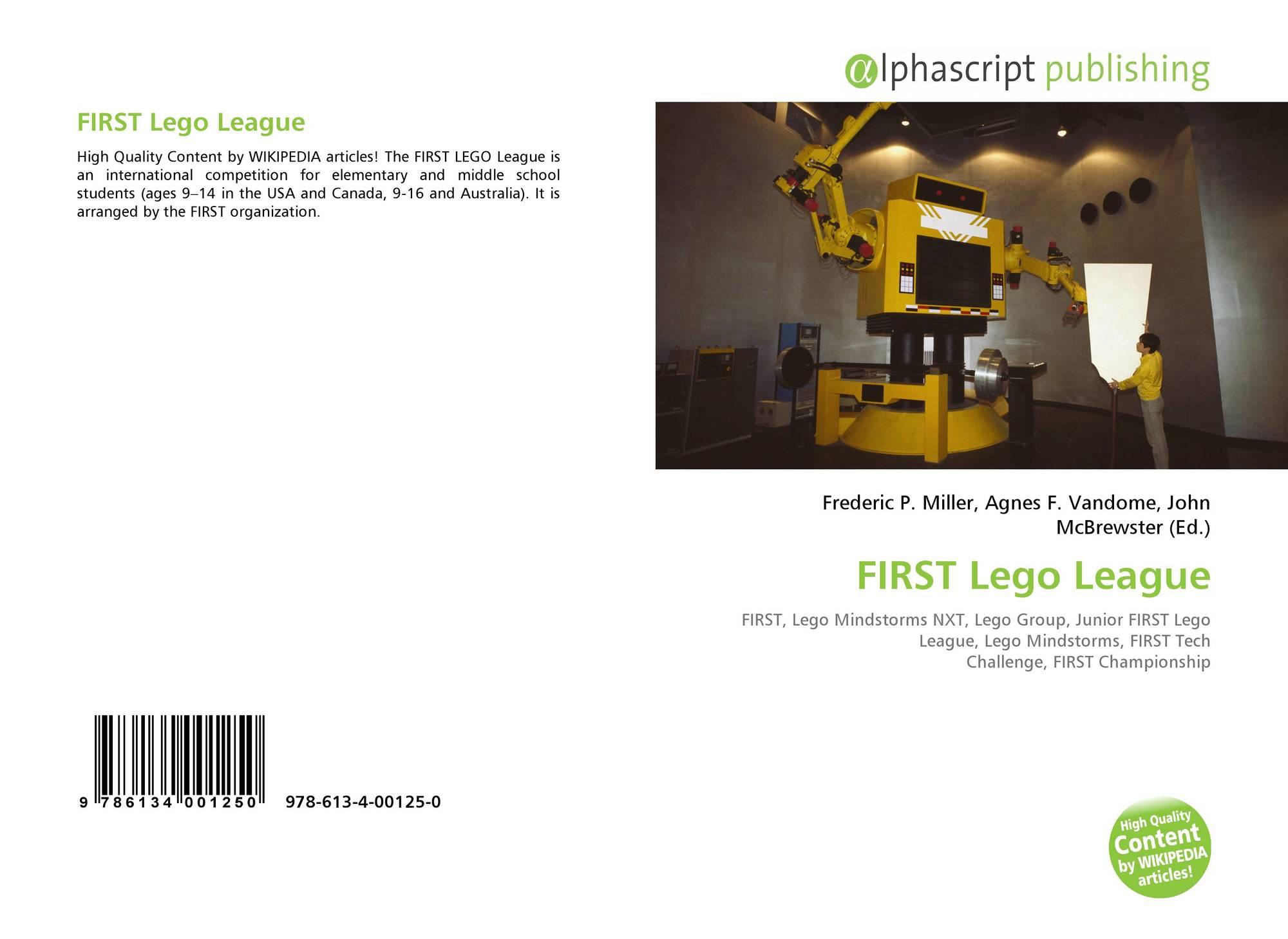 FIRST Lego League, 978-613-4-00125-0, 6134001252 ,9786134001250