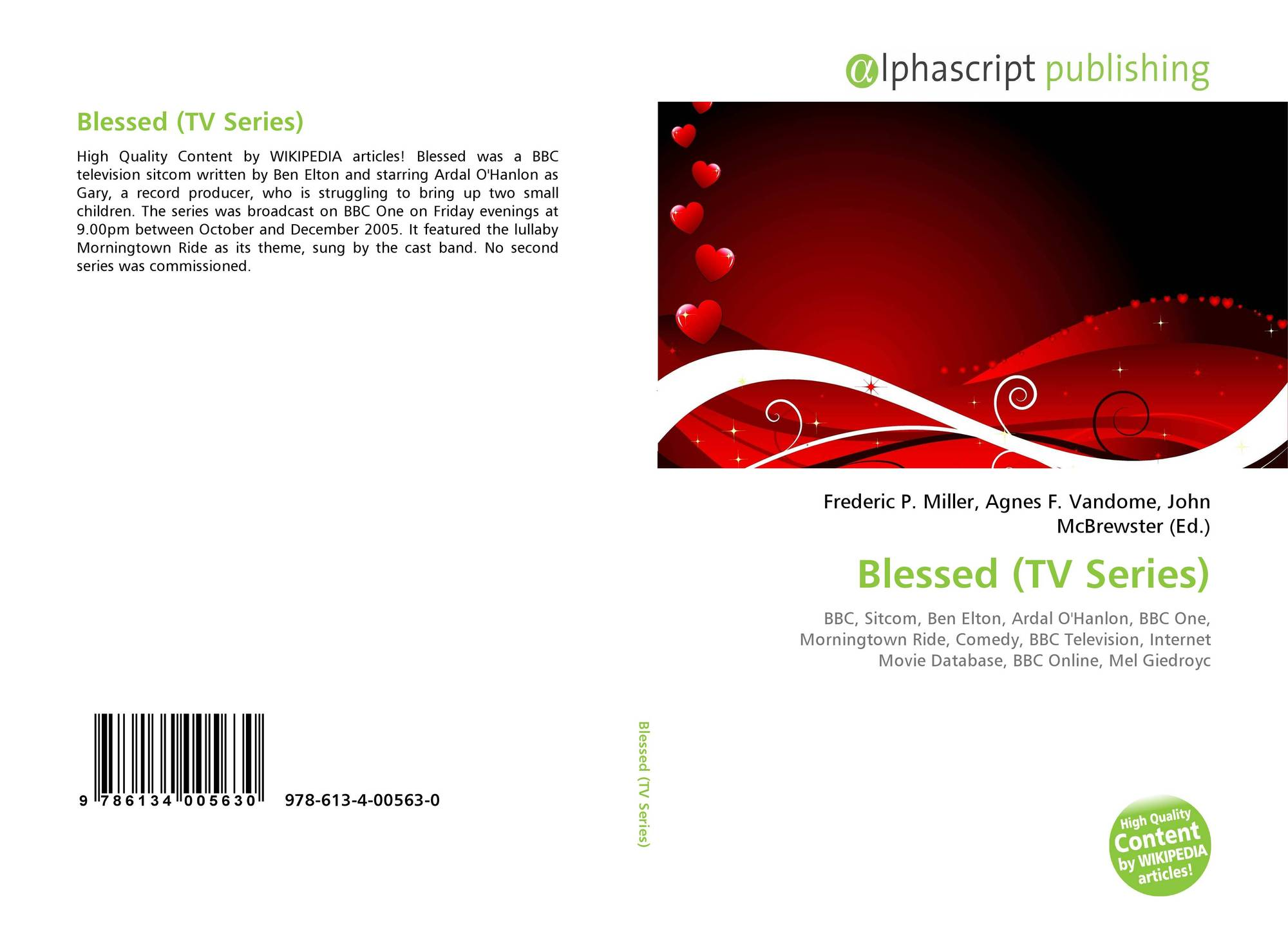 Blessed (TV Series), 978-613-4-00563-0, 6134005630 ,9786134005630