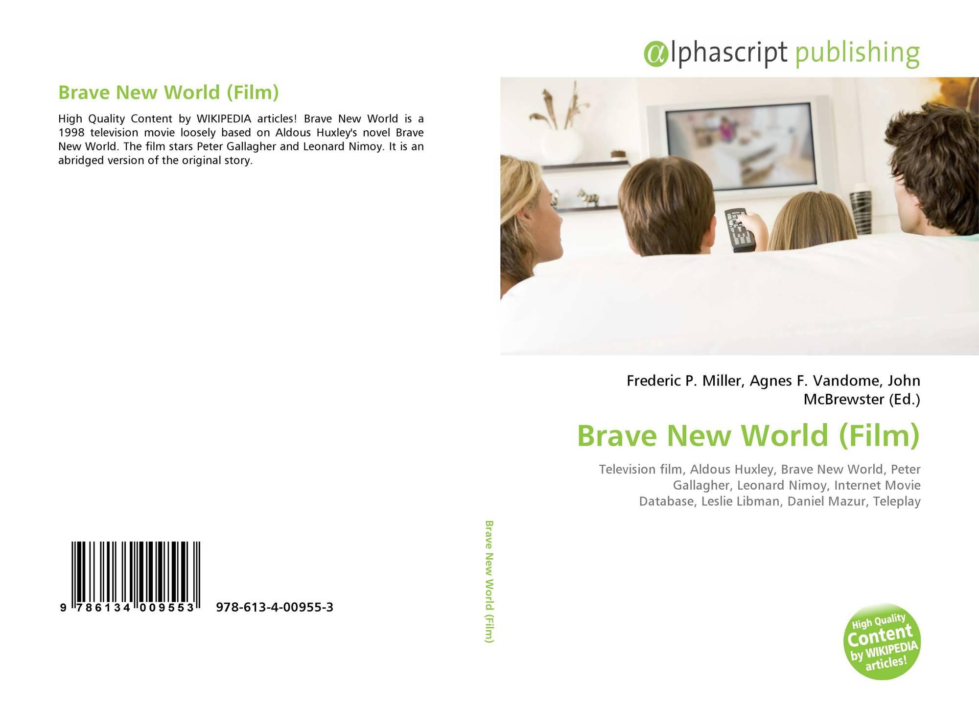 brave new world aldous huxley movie