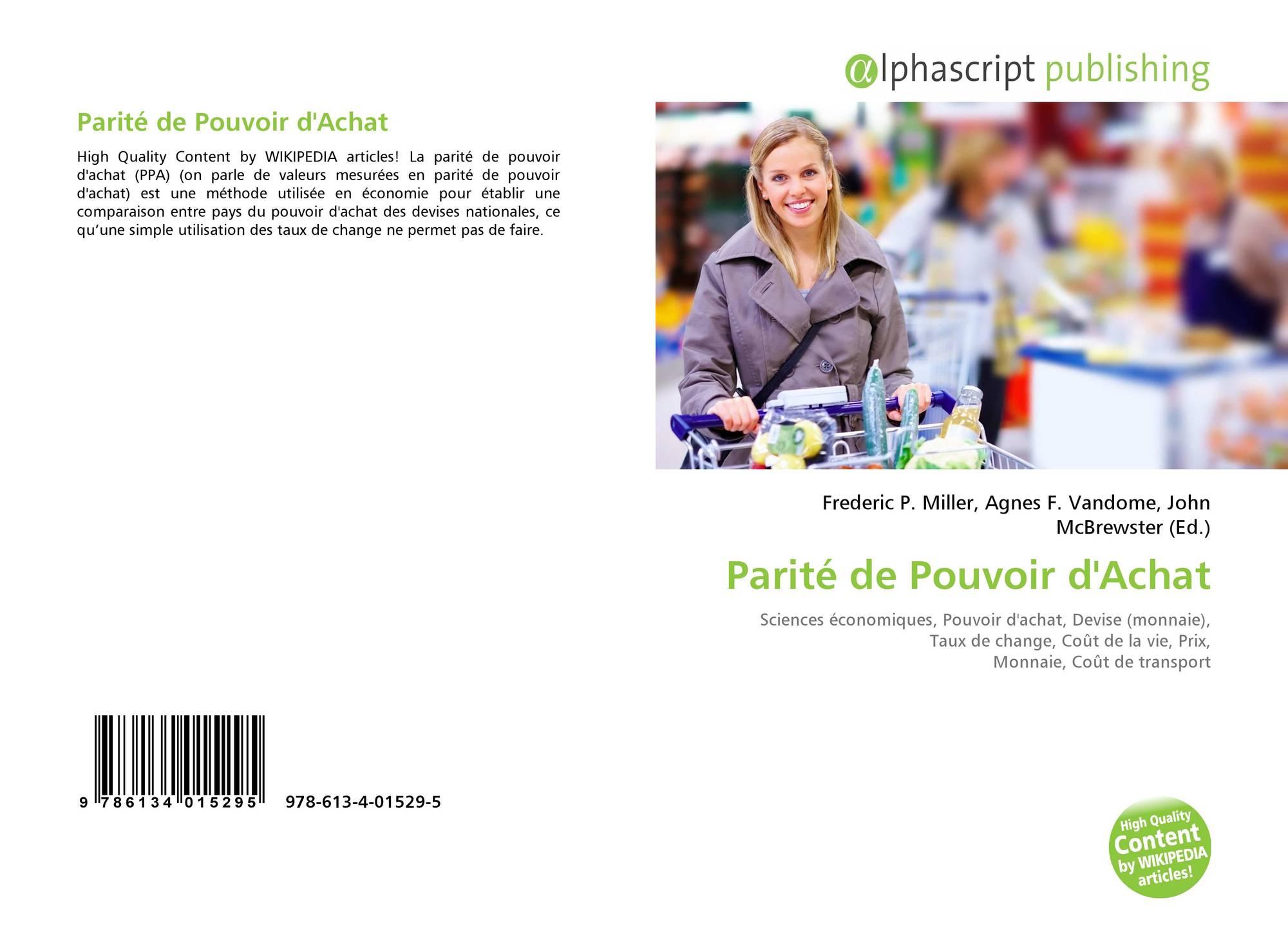 Parite De Pouvoir D Achat 978 613 4 01529 5 6134015296