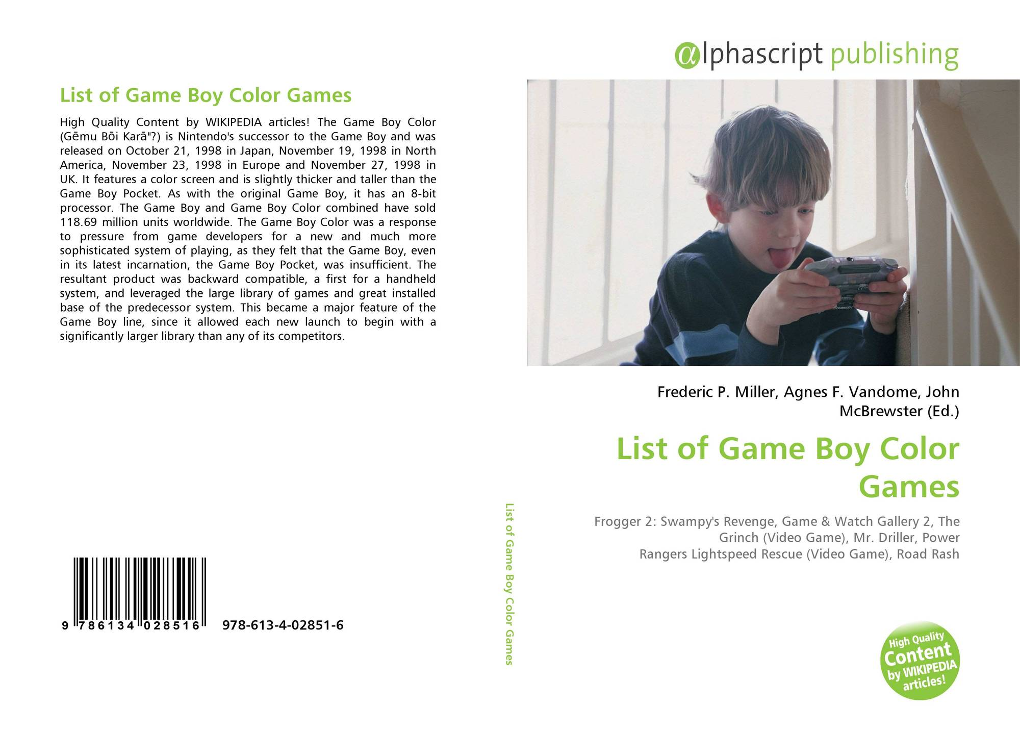Game boy color list - Bookcover Of List Of Game Boy Color Games Omni Badge 9307e2201e5f762643a64561af3456be64a87707602f96b92ef18a9bbcada116