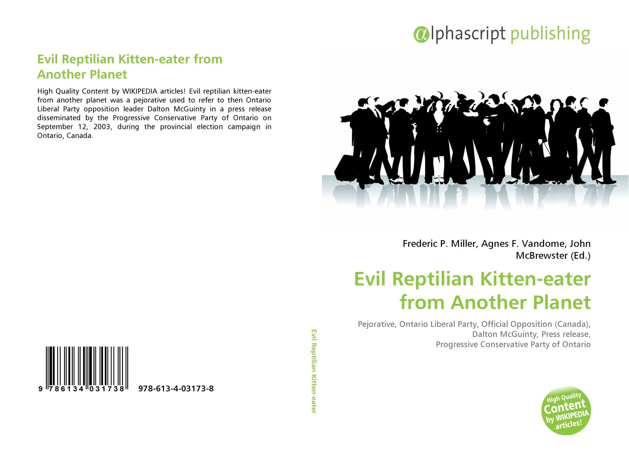 evil reptilian kitten-eater from another planet