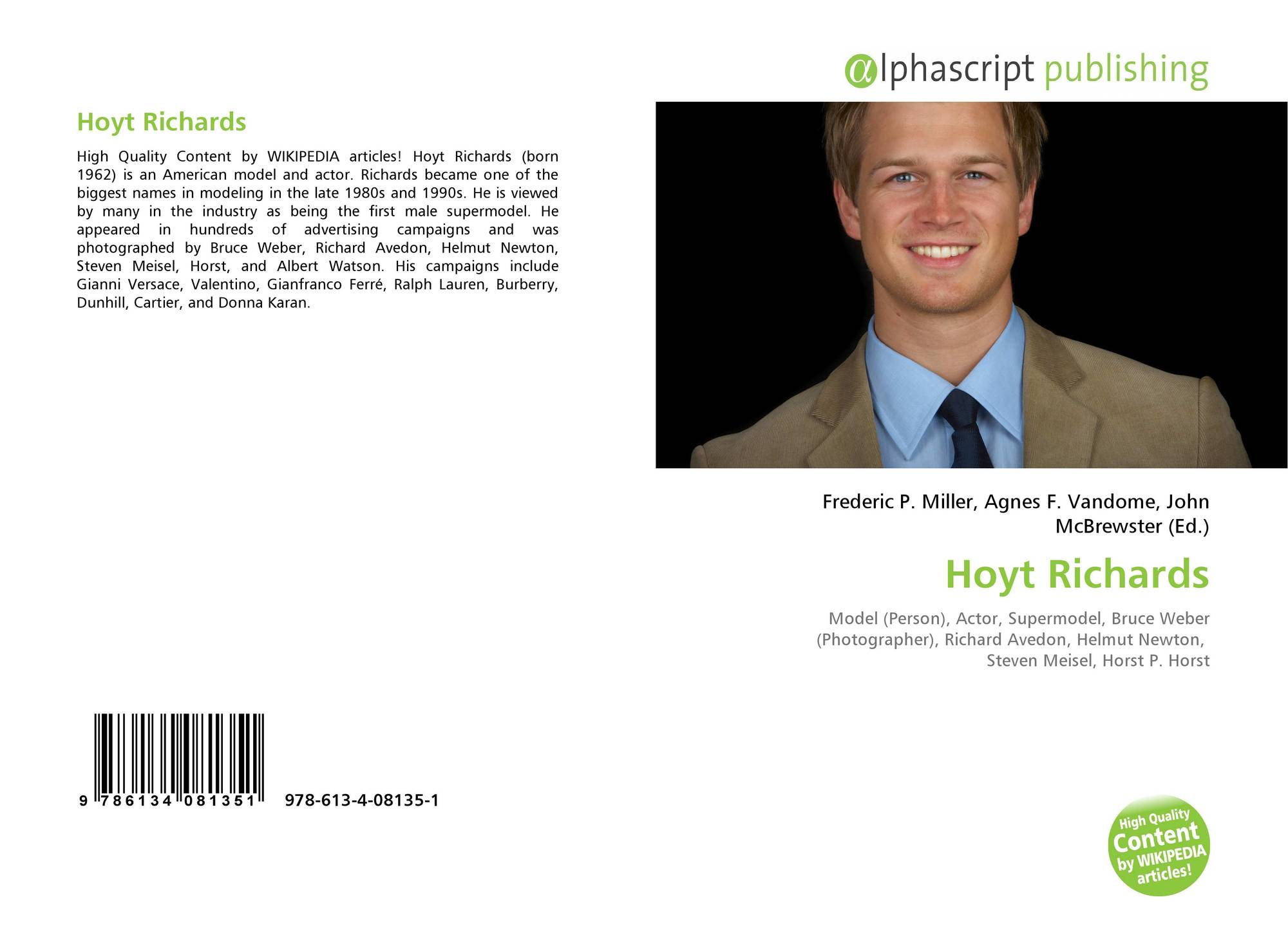 Hoyt Richards, 978-613-4-08135-1, 6134081353 ,9786134081351