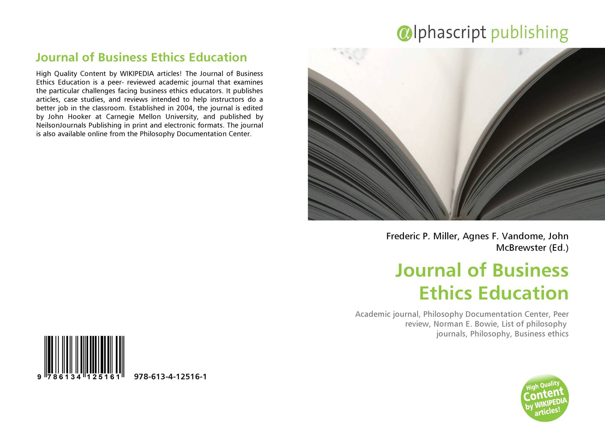 journal summary international marketing ethics from an Author biographies ben wooliscroft is senior lecturer in marketing in the school of business, university of otago, dunedin, new zealand, where he was educated his research is been centered on the interaction between marketing and society.