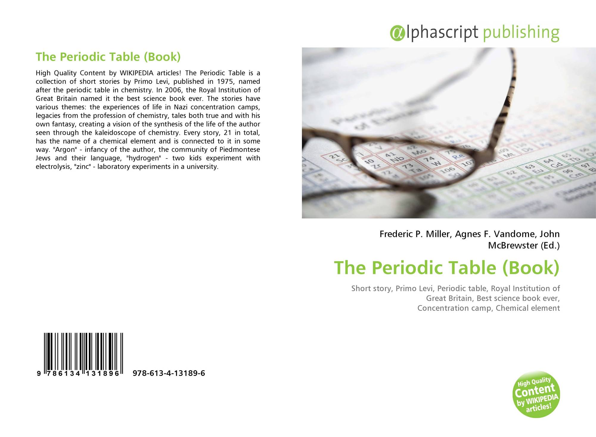 Search results for extended periodic table bookcover of the periodic table book gamestrikefo Choice Image
