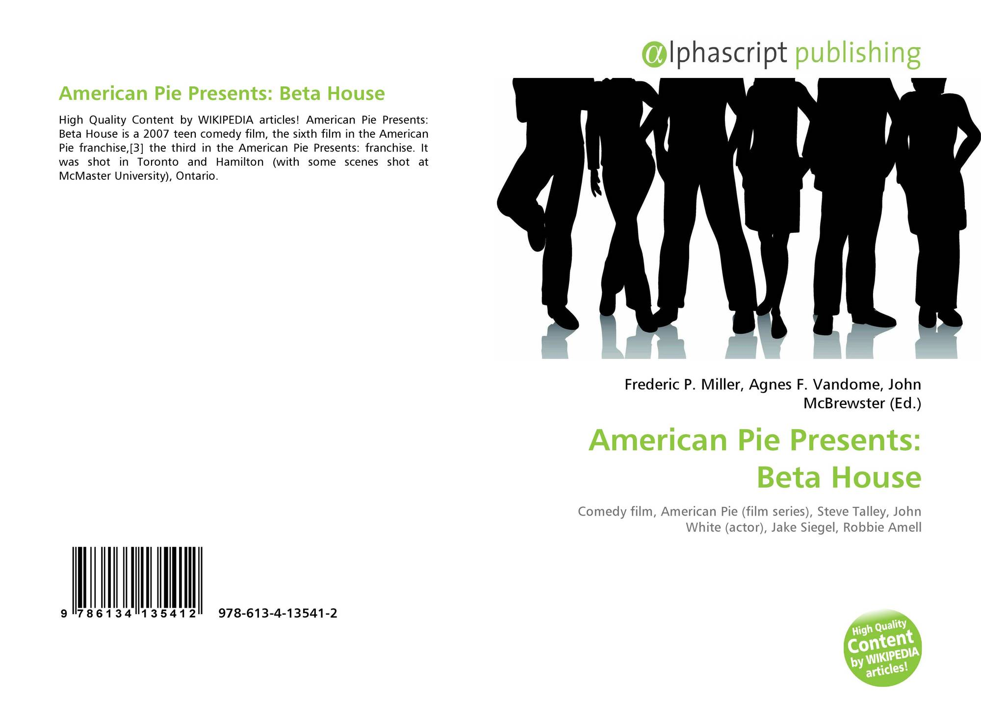 American Pie Presents Beta House Full Movie american pie presents: beta house, 978-613-4-13541-2