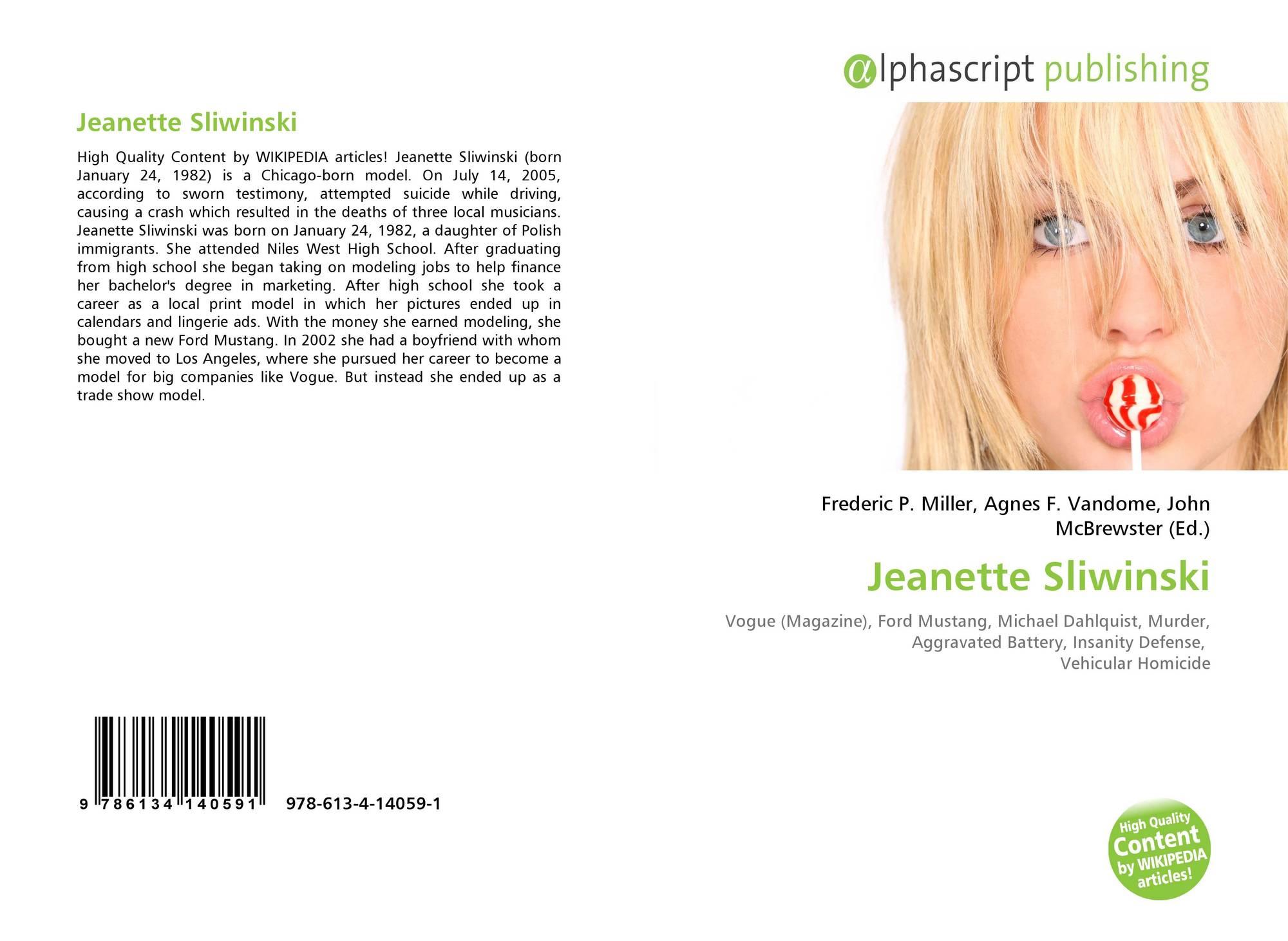 Jeanette sliwinski nude erotic tube