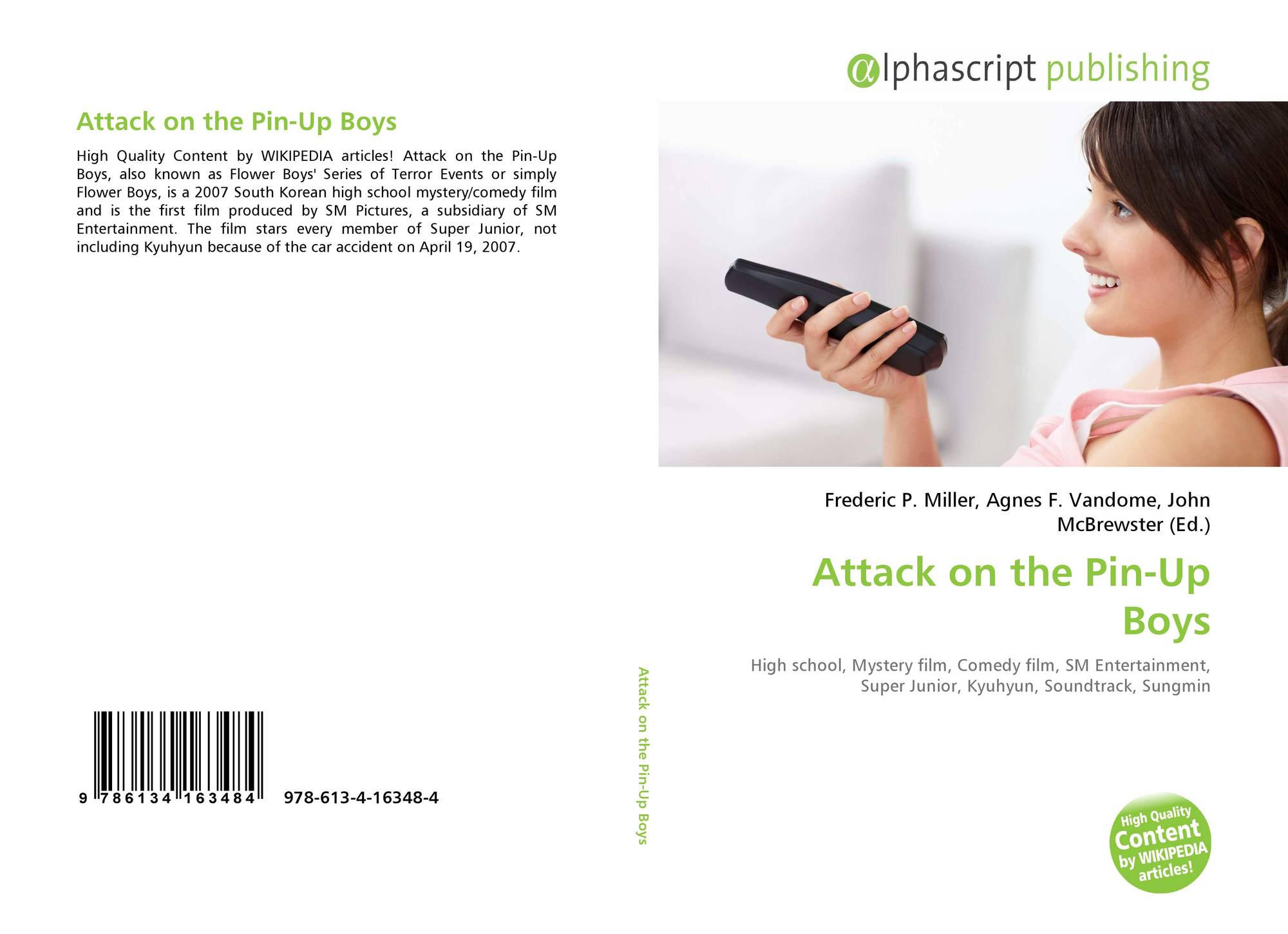 Attack on the Pin Up Boys, 978 613 4 16348 4, 6134163481