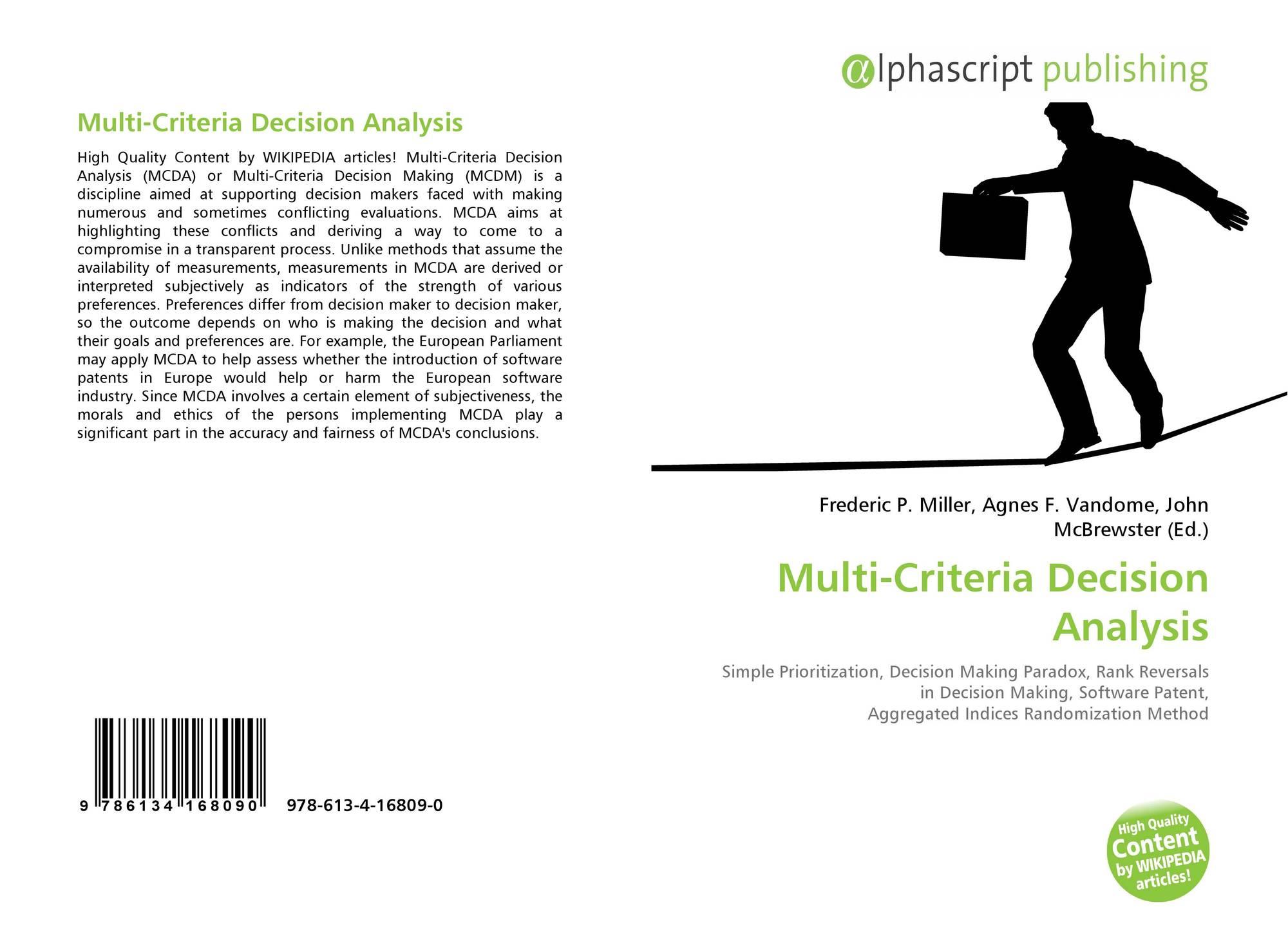 deriving consensus rankings via multicriteria decision