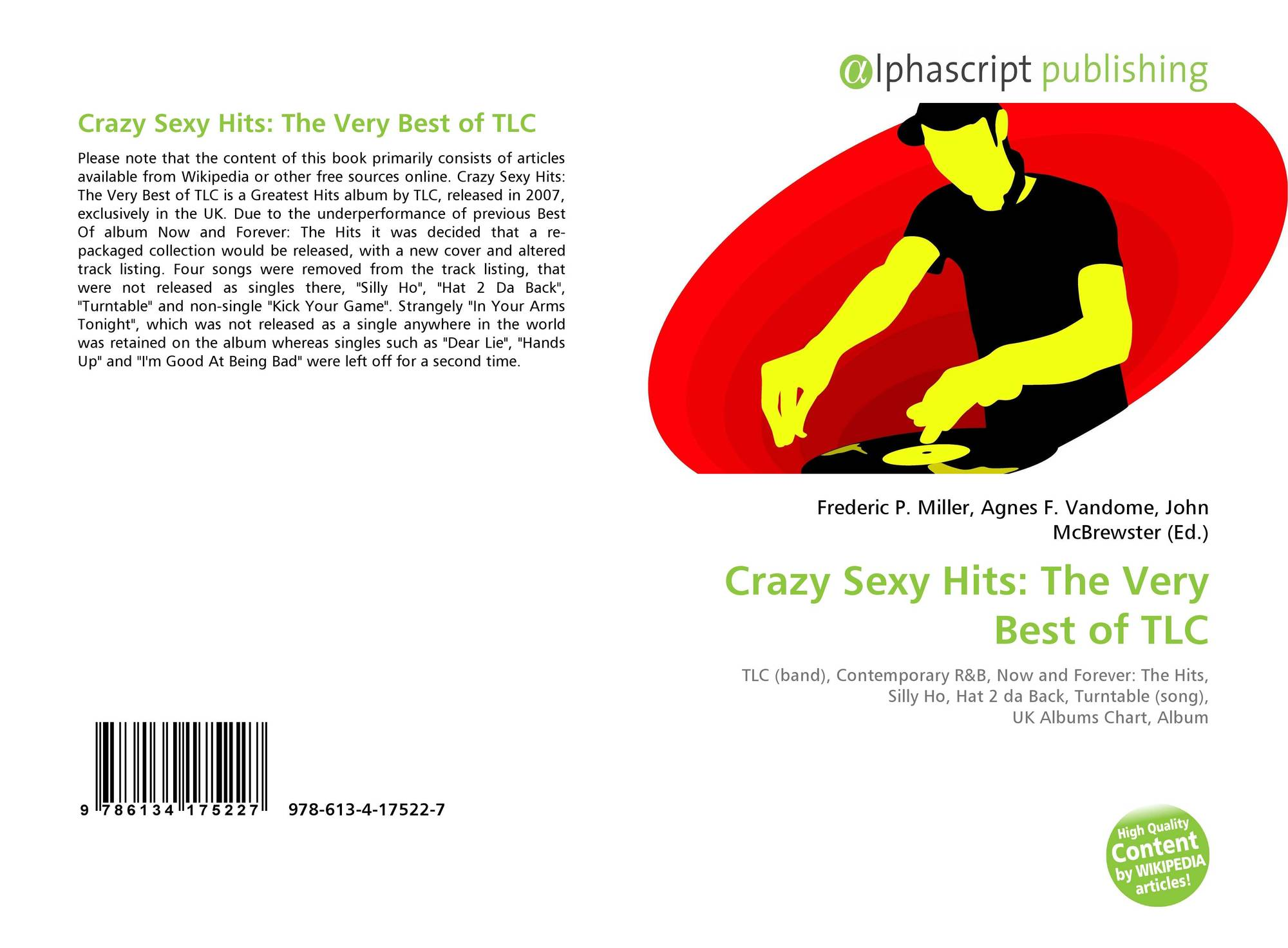 Crazy Sexy Hits: The Very Best of TLC, 978-613-4-17522-7