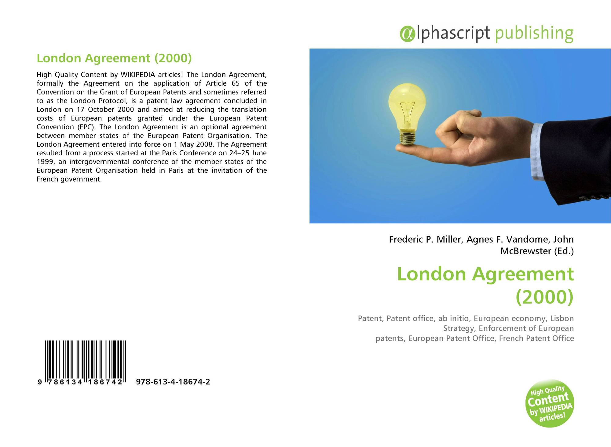 Search results for agreement bookcover of london agreement 2000 platinumwayz
