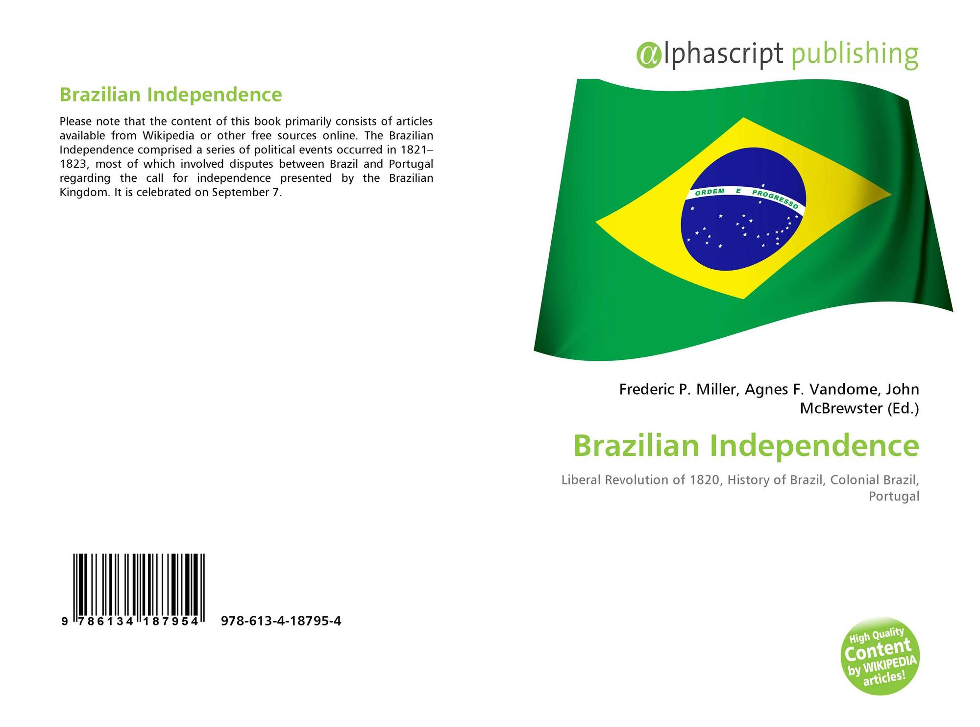 a report on the brazilian independence movement Movement of human rights (mndh – northeast regional section) and gajop (legal advisory office for popular organizations) one of its objectives is to contribute to.