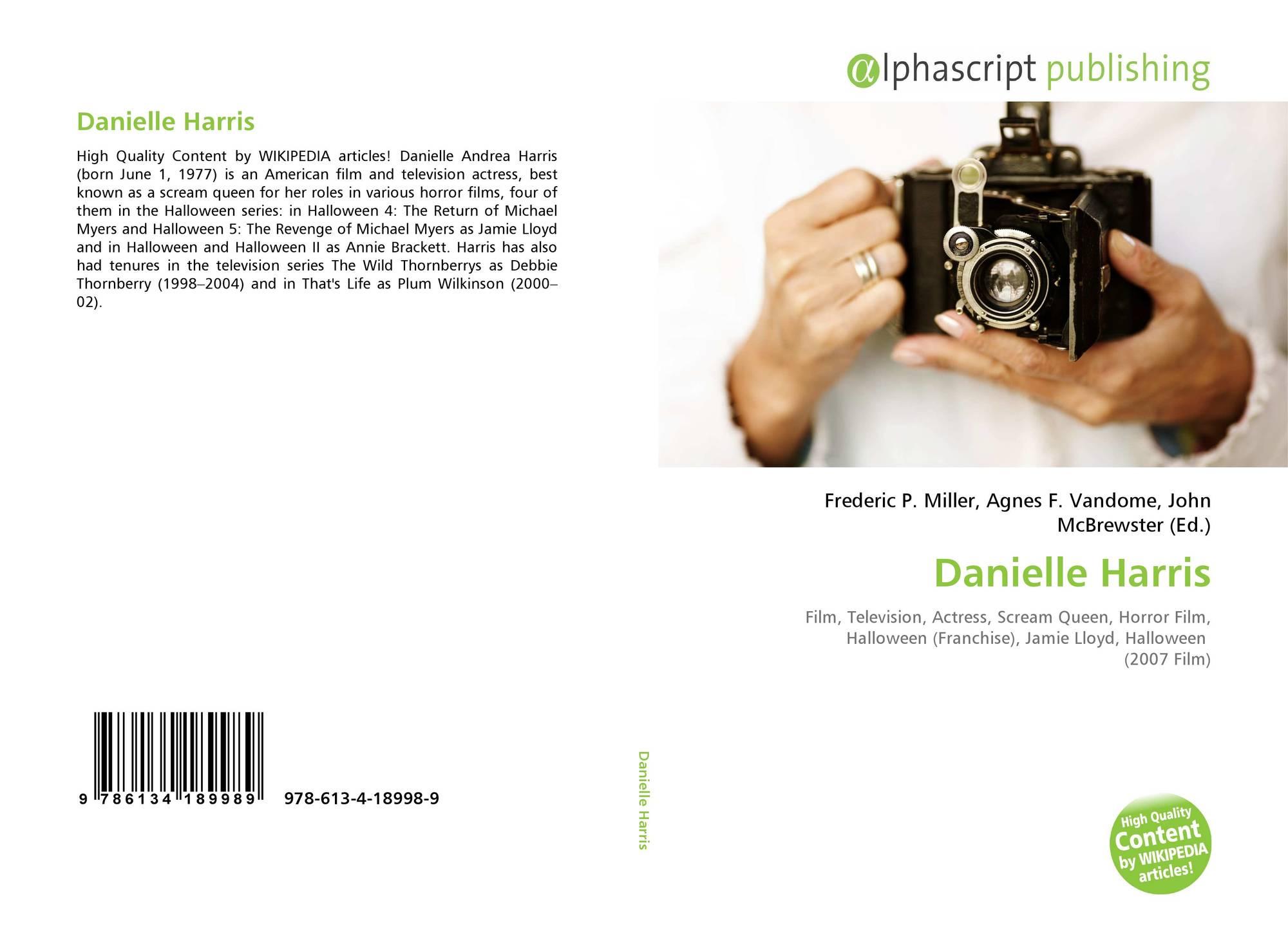 danielle harris, 978-613-4-18998-9, 6134189987 ,9786134189989