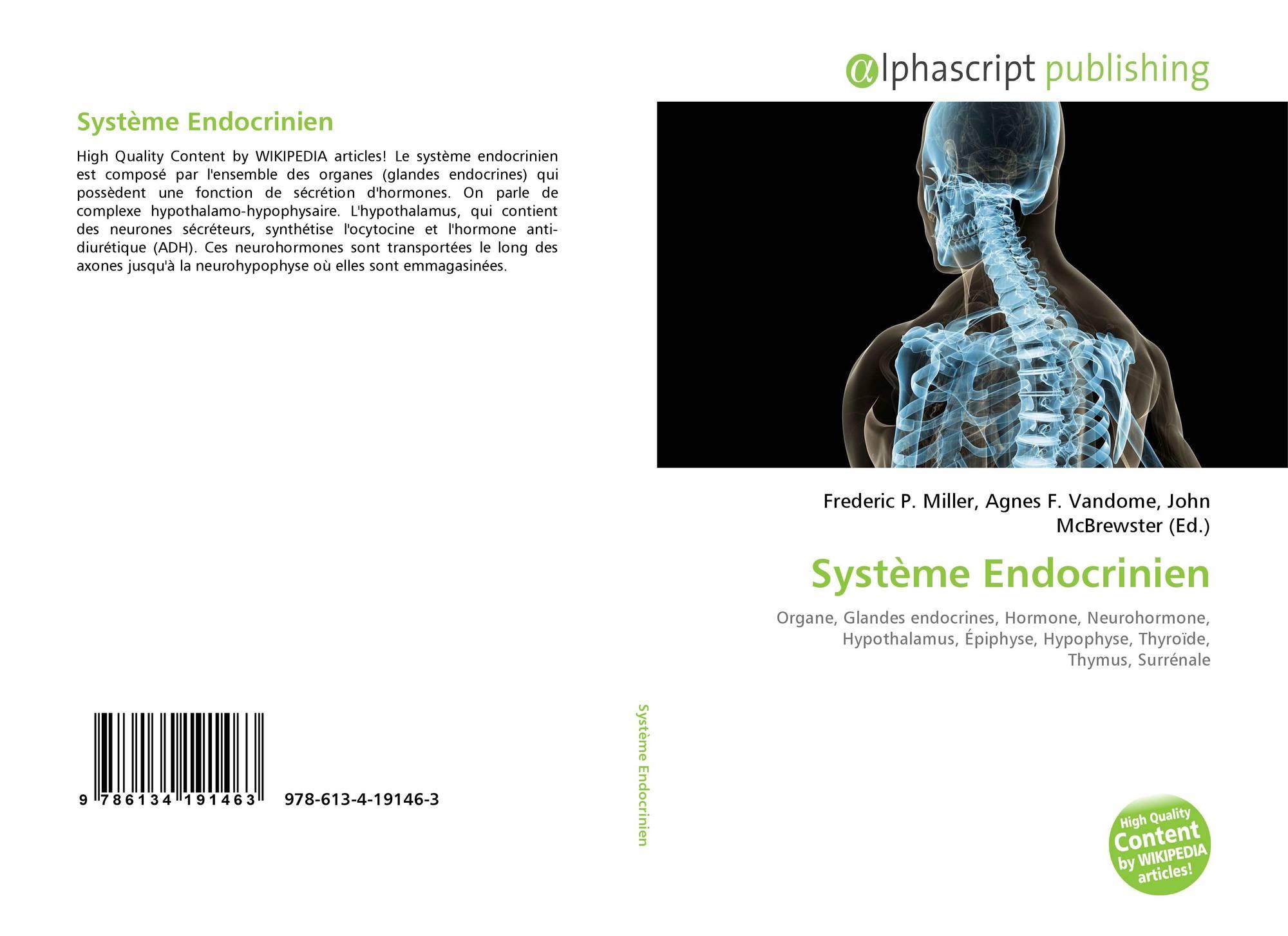 Système Endocrinien, 978-613-4-19146-3, 6134191469 ,9786134191463