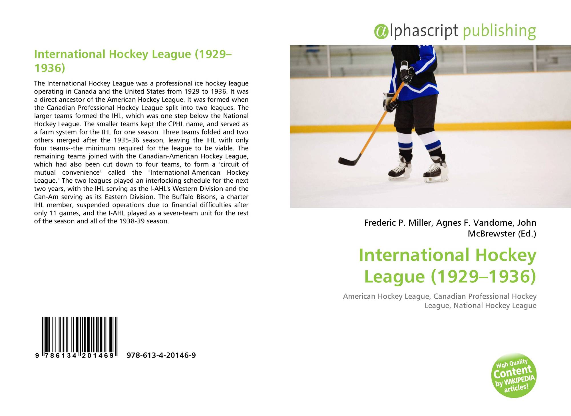 Search Results For International Hockey League