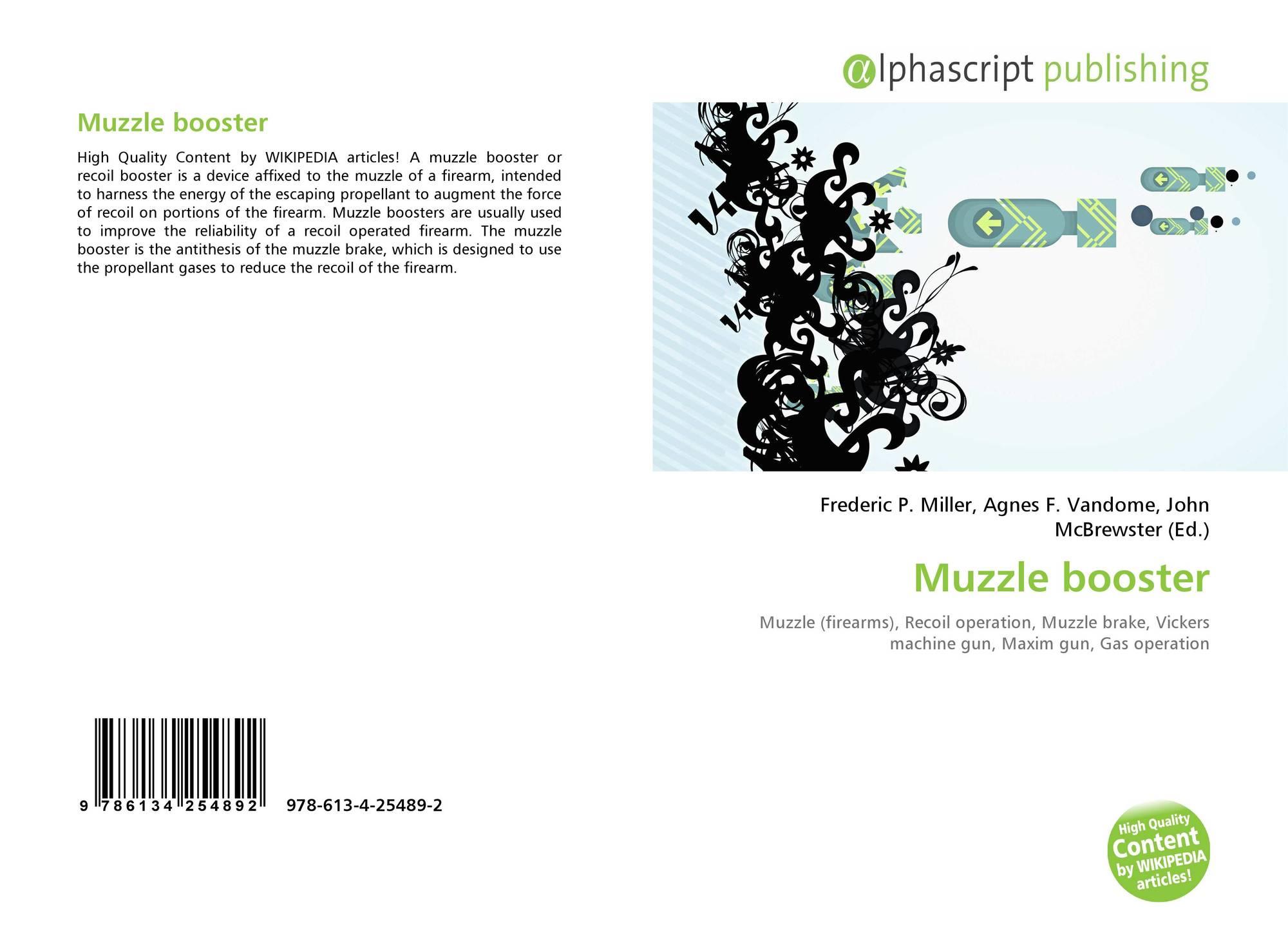 Muzzle Booster 978 613 4 25489 2 6134254894 9786134254892