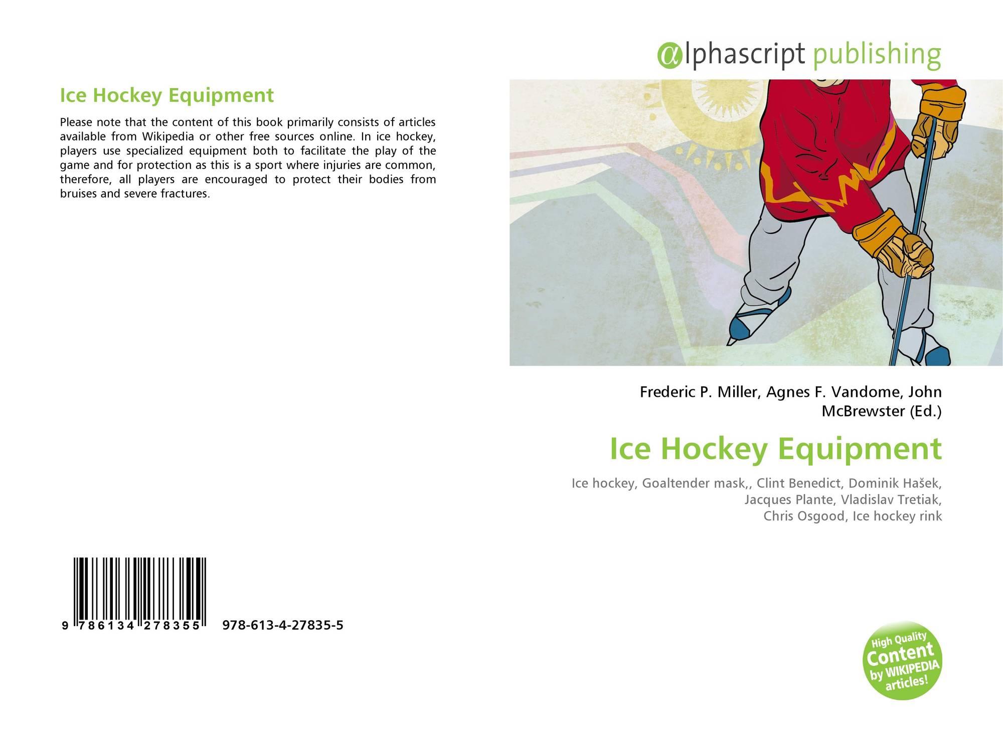 35ef91aa5bf Bookcover of Ice Hockey Equipment. 9786134278355