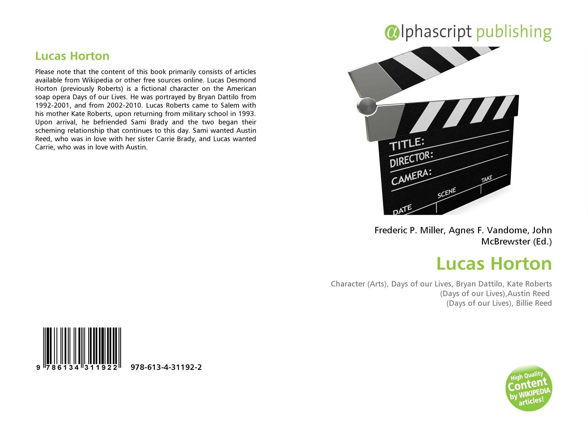 Lucas Horton 978 613 4 31192 2 6134311928 9786134311922