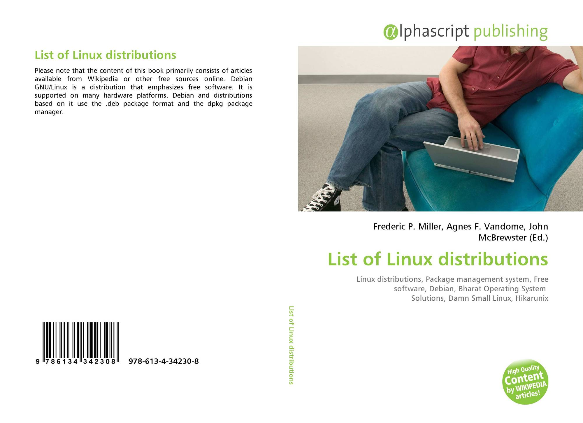List Of Linux Distributions 978 613 4 34230 8 6134342300 9786134342308