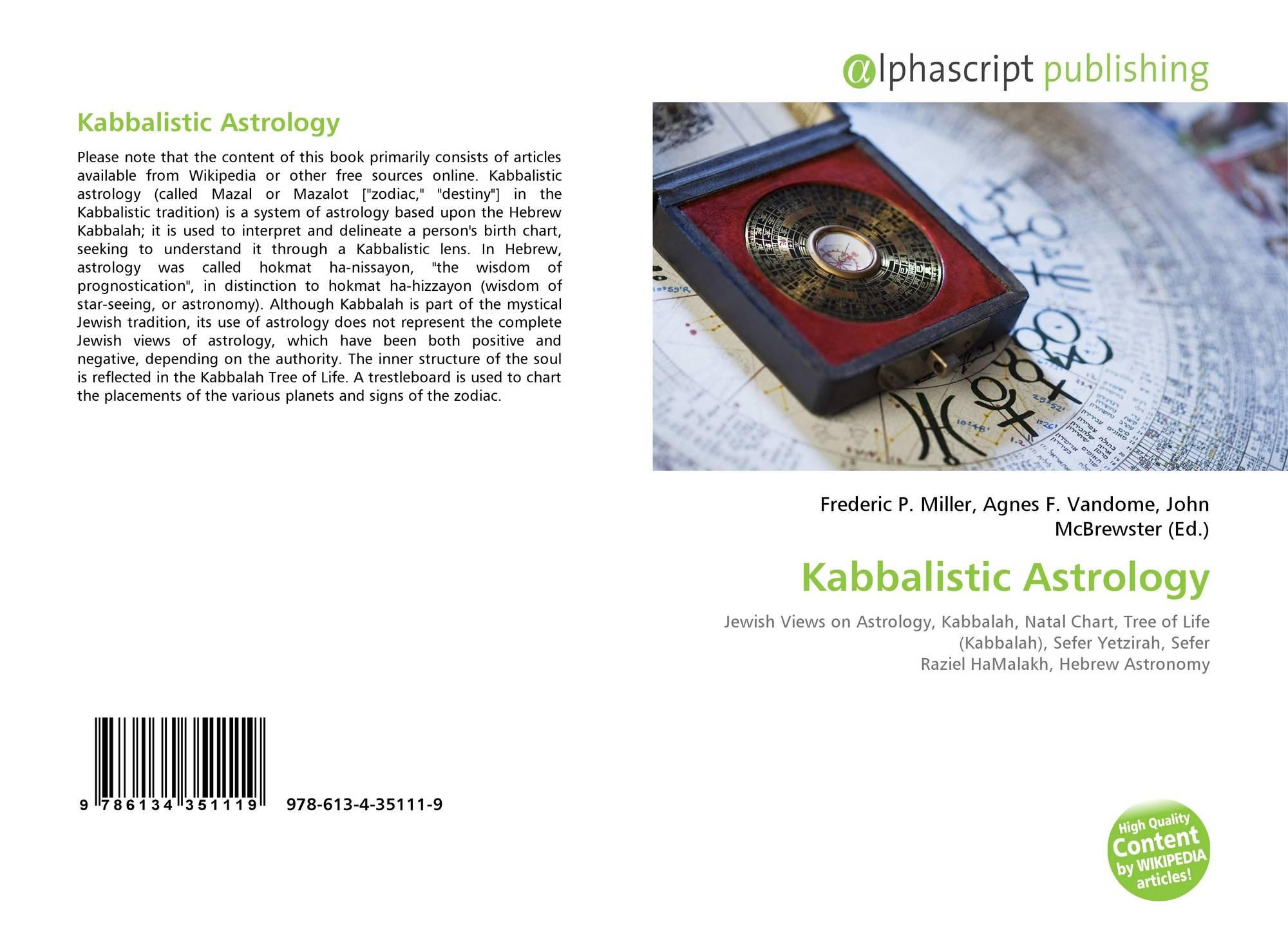 Kabbalistic Astrology 978 613 4 35111 9 6134351113 9786134351119