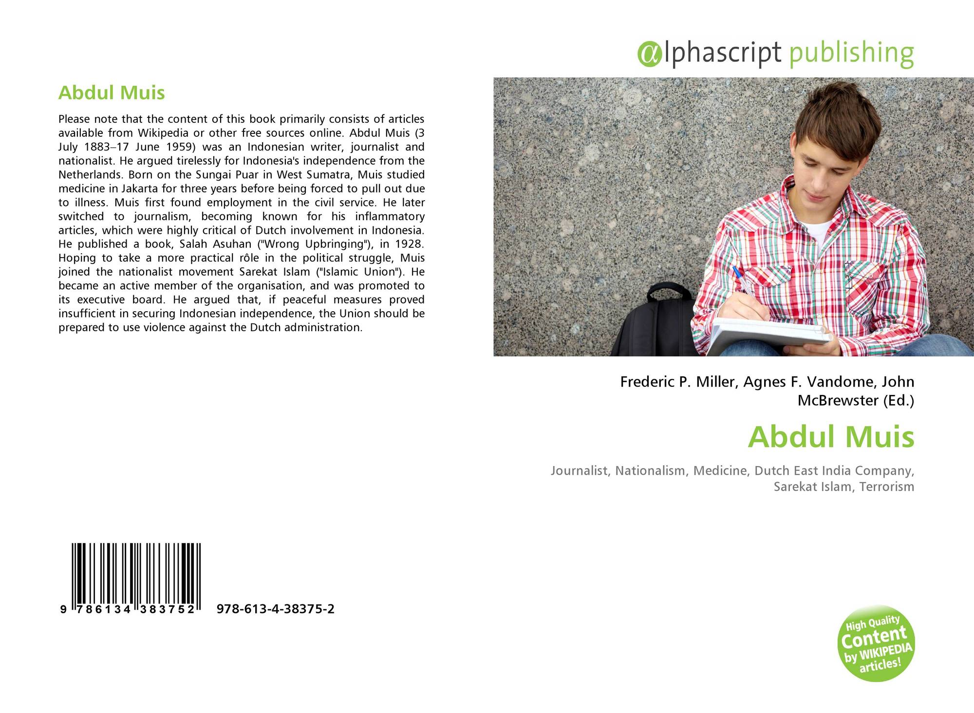 Bookcover Of Abdul Muis